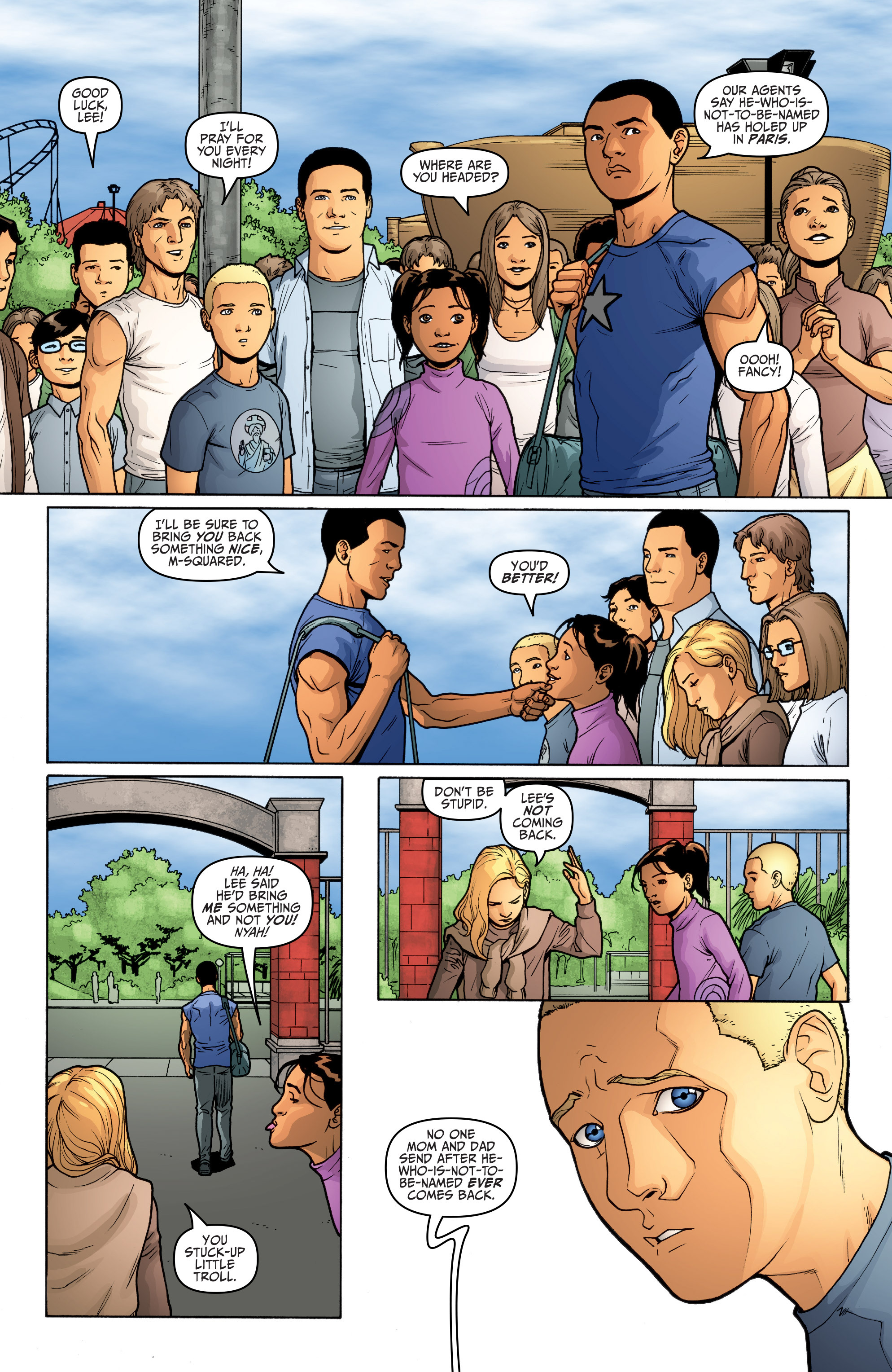 Read online Archer and Armstrong comic -  Issue #Archer and Armstrong _TPB 5 - 20
