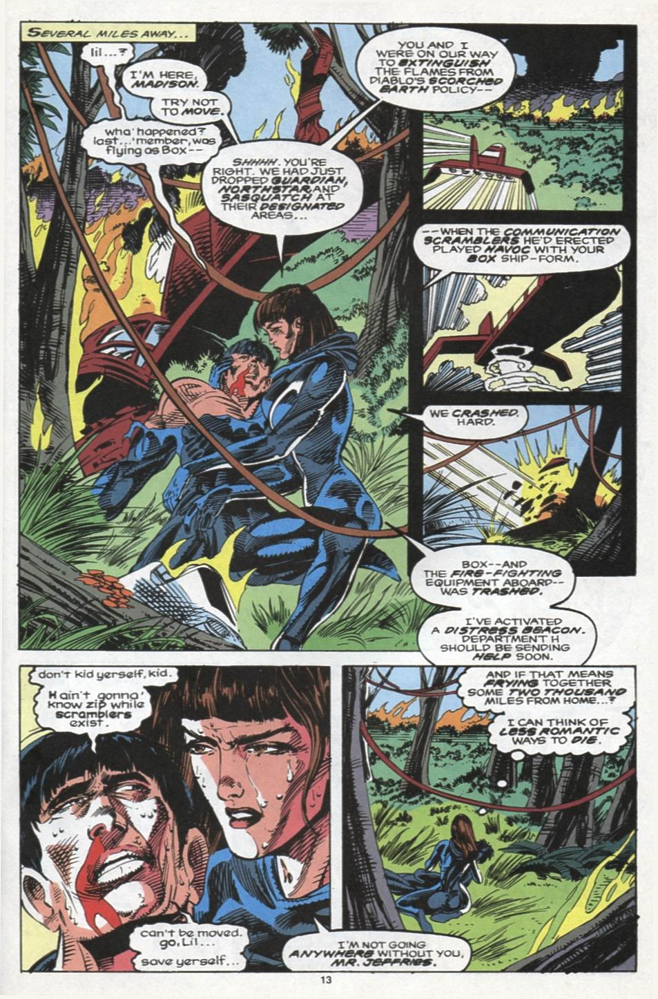 Read online Alpha Flight (1983) comic -  Issue #102 - 10