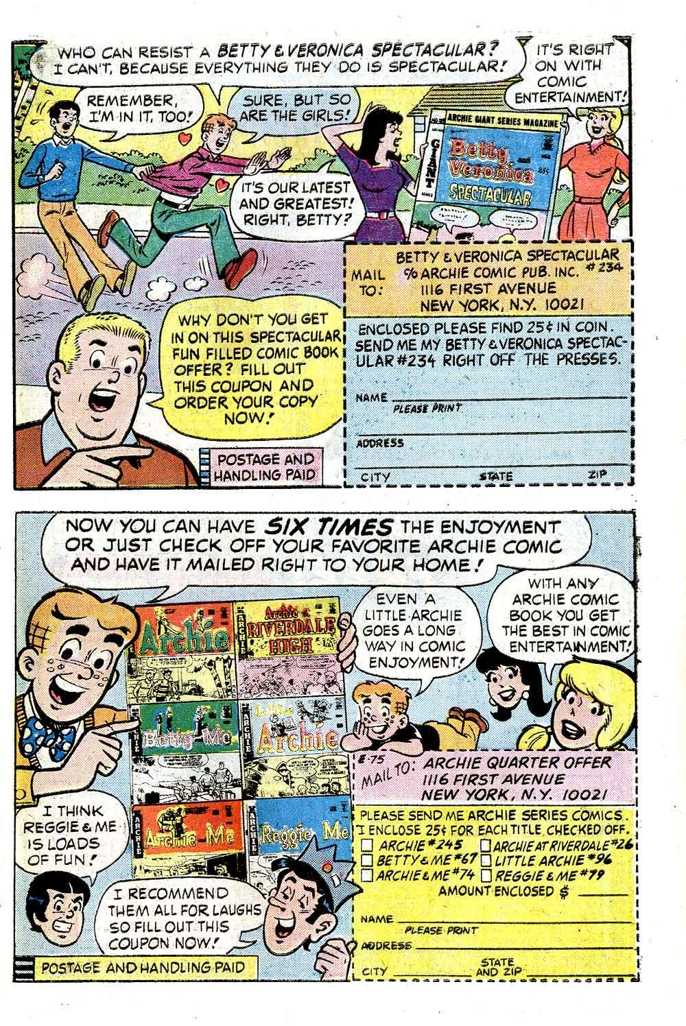 Read online Archie (1960) comic -  Issue #244 - 27