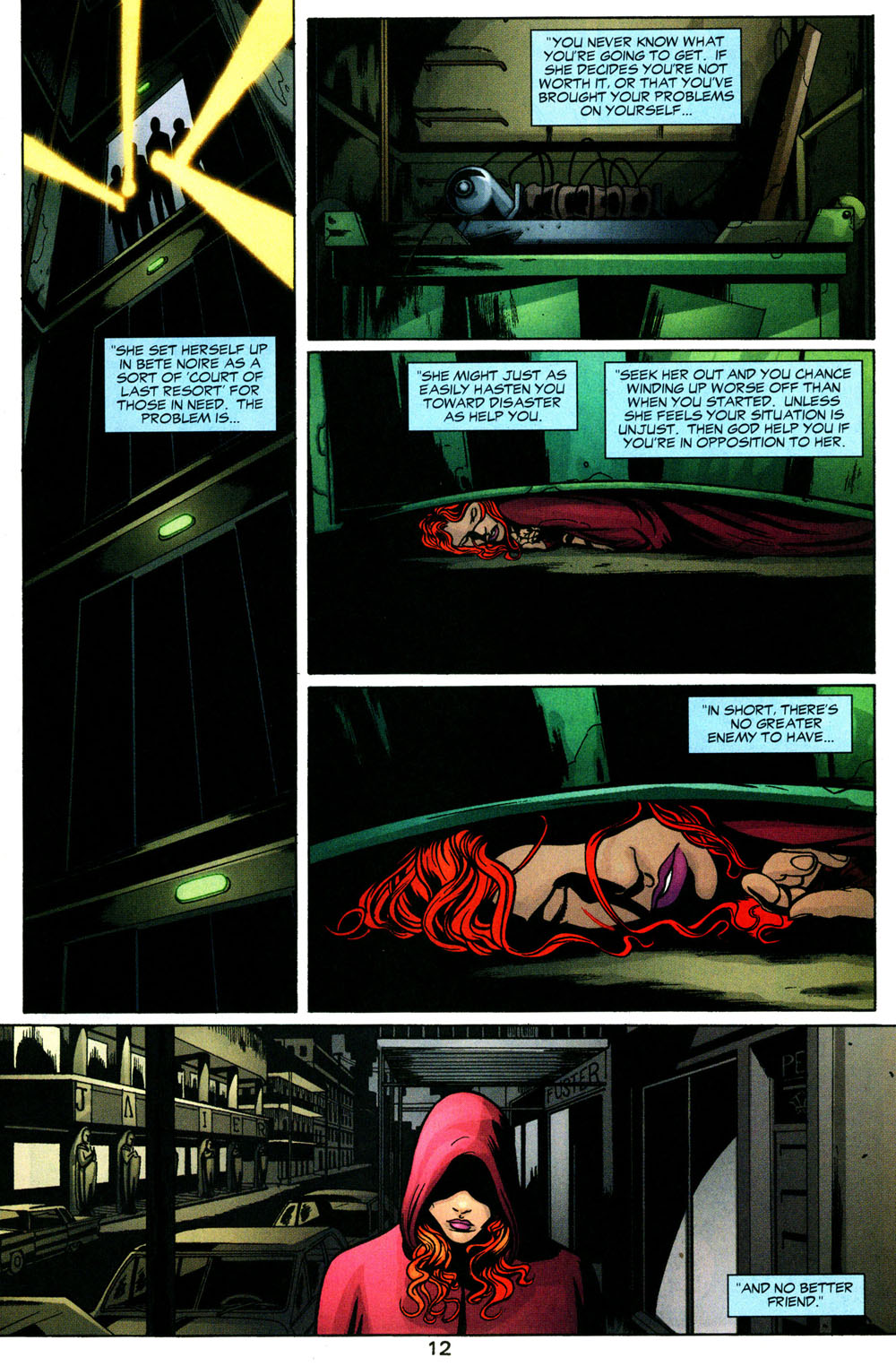 Read online Fallen Angel (2003) comic -  Issue #3 - 13