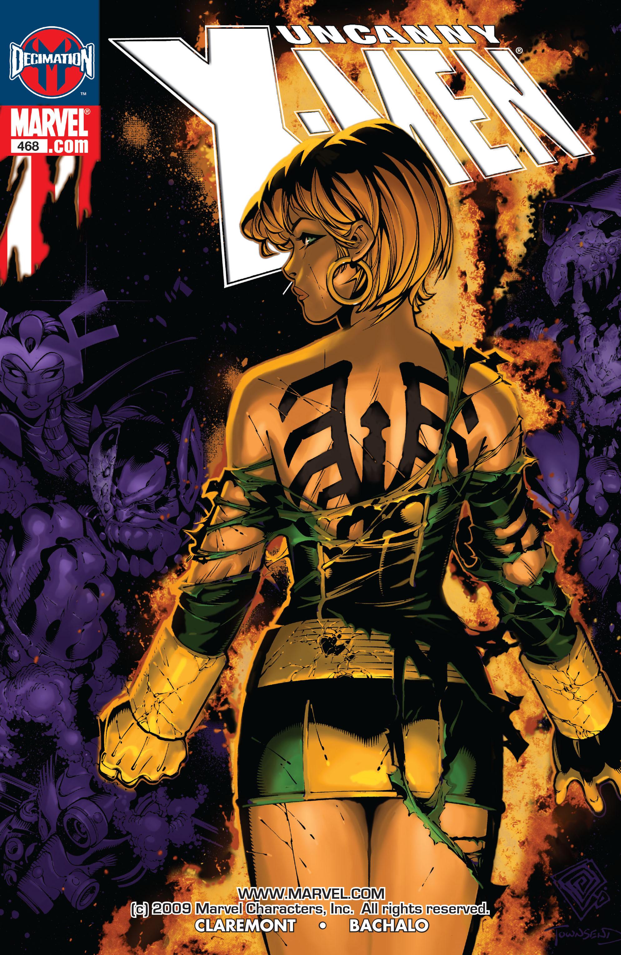 Read online Uncanny X-Men (1963) comic -  Issue #468 - 1