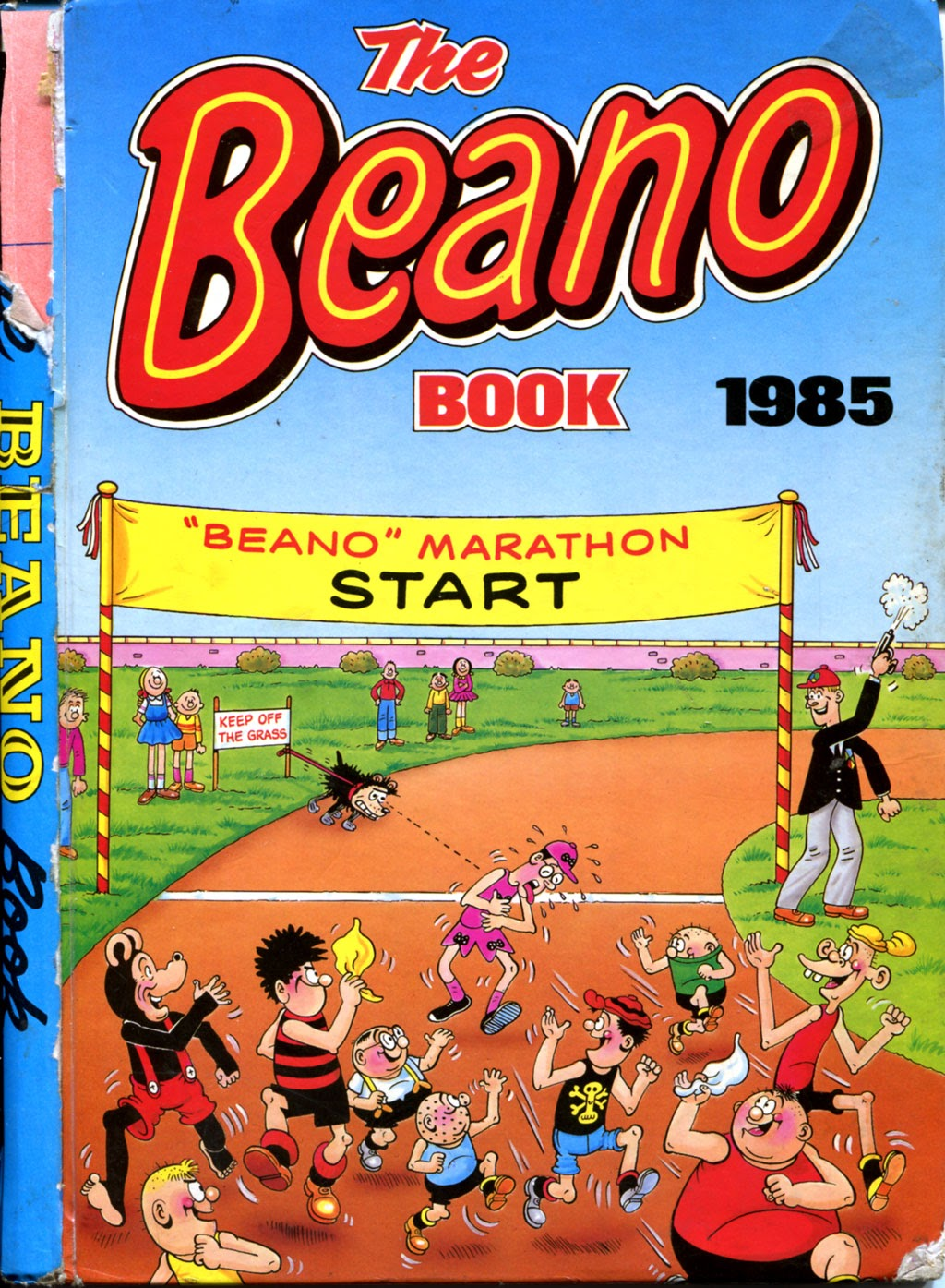 The Beano Book (Annual) 1985 Page 1