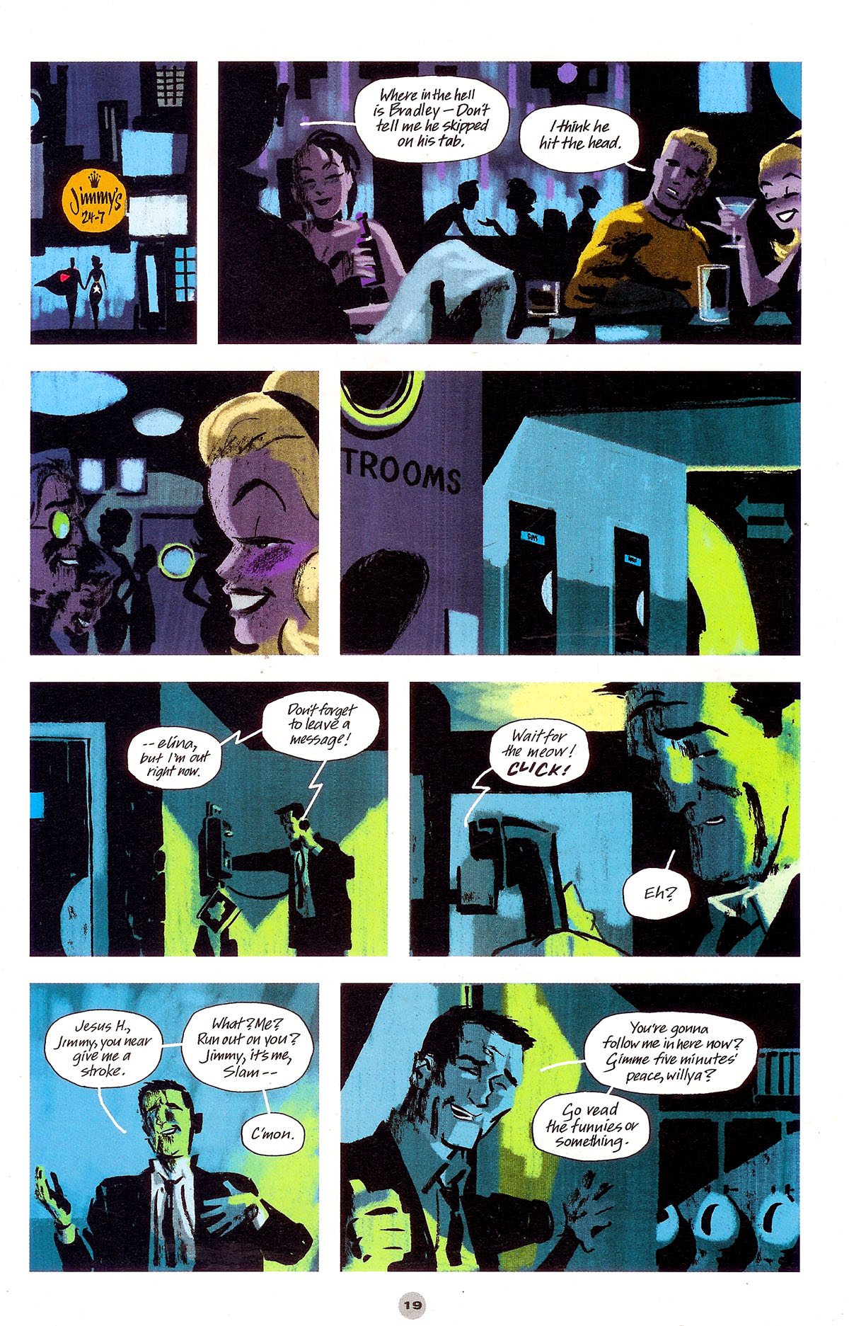 Read online Solo (2004) comic -  Issue #5 - 20