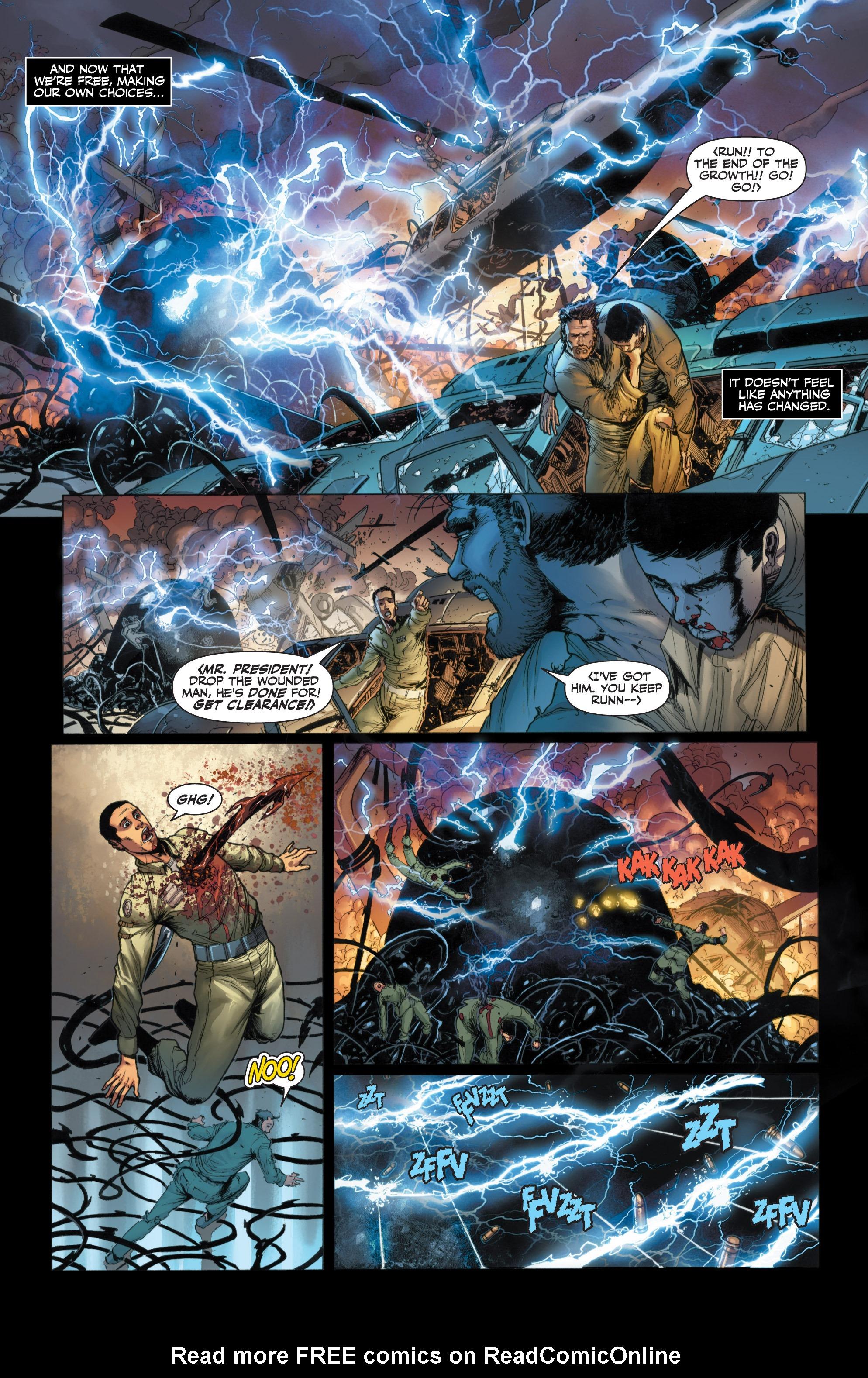 Read online Armor Hunters: Harbinger comic -  Issue # TPB - 32