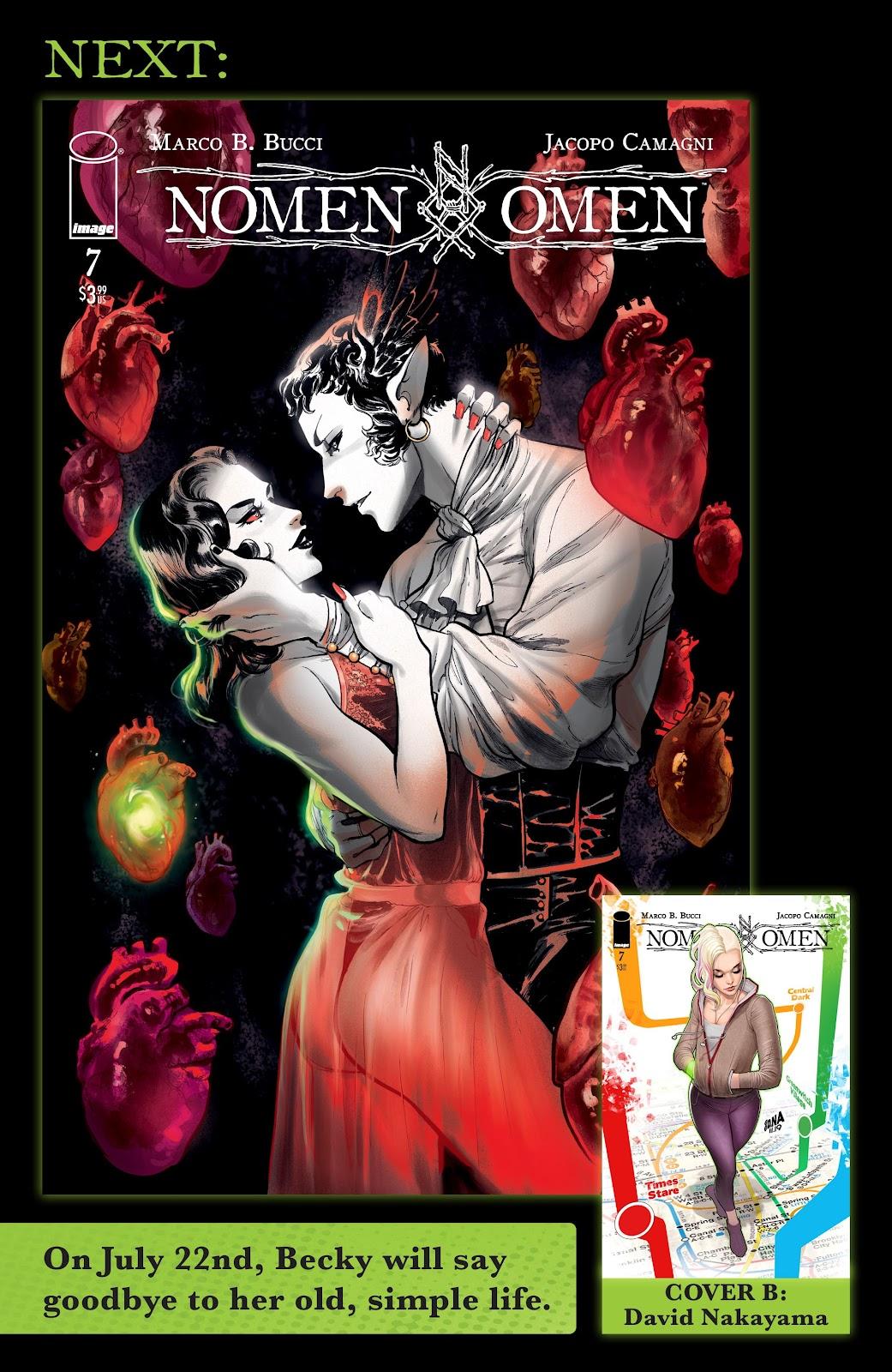 Read online Nomen Omen comic -  Issue #6 - 30