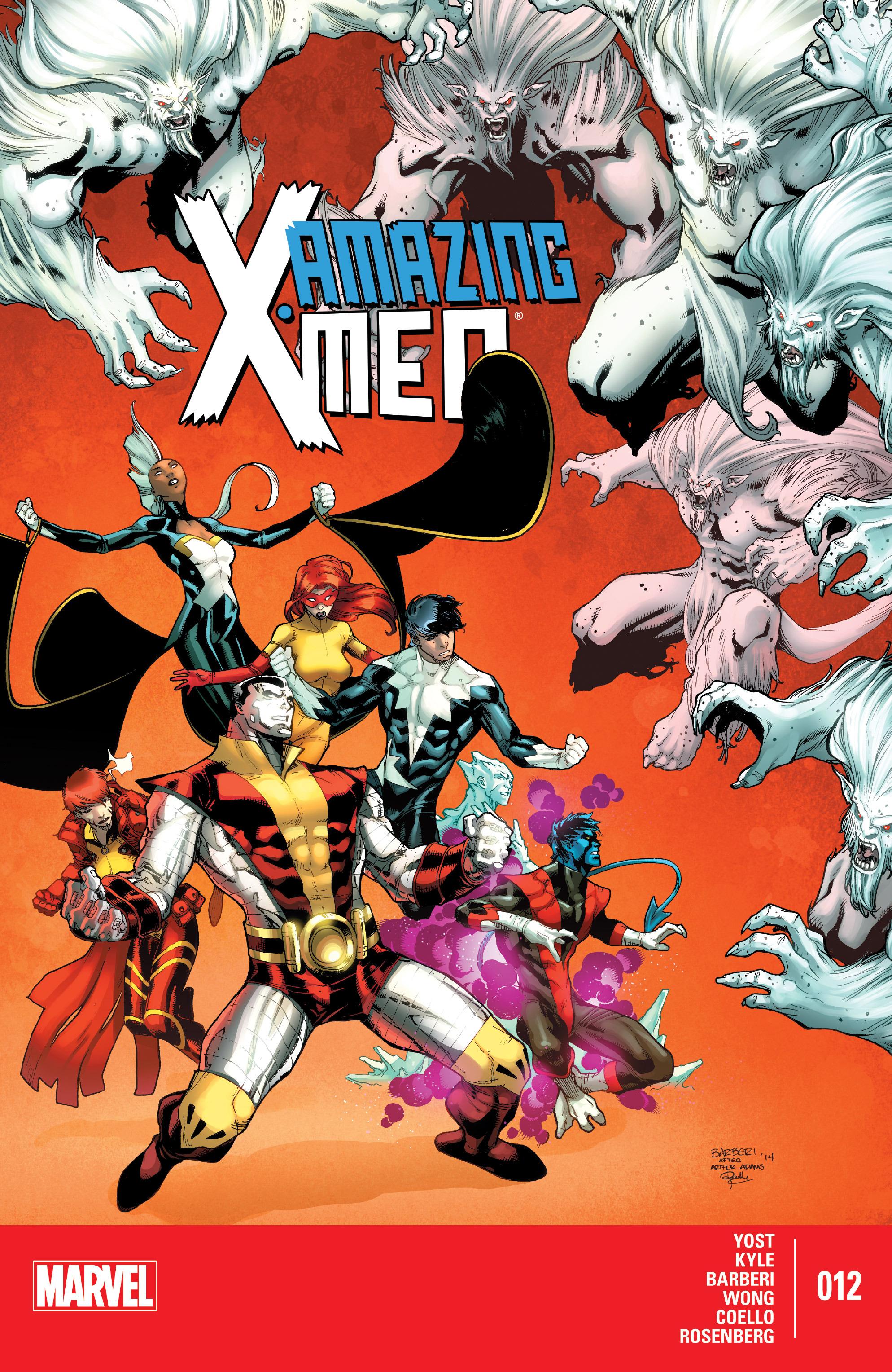 Read online Amazing X-Men (2014) comic -  Issue #12 - 1