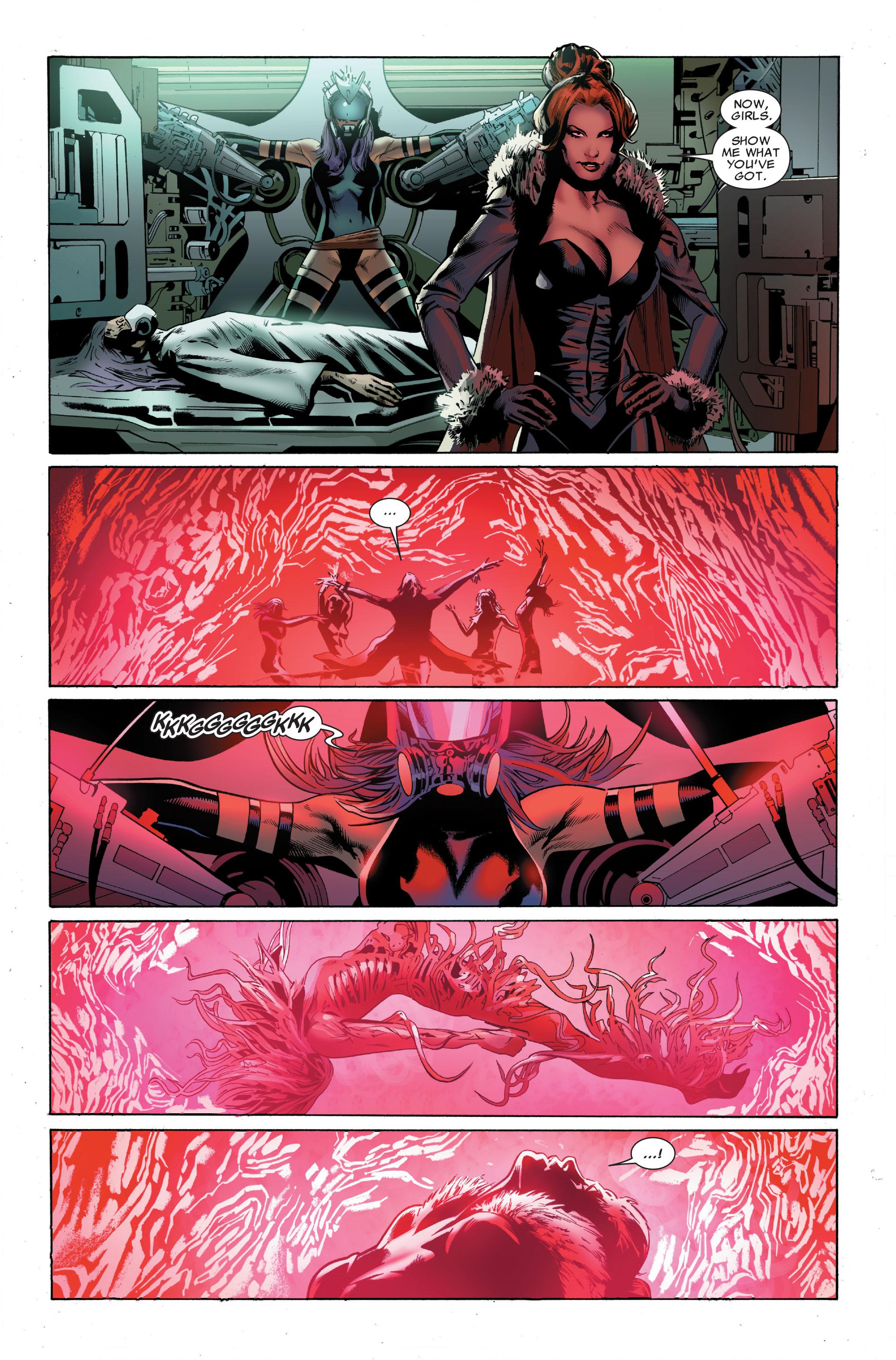Read online Uncanny X-Men (1963) comic -  Issue #508 - 24