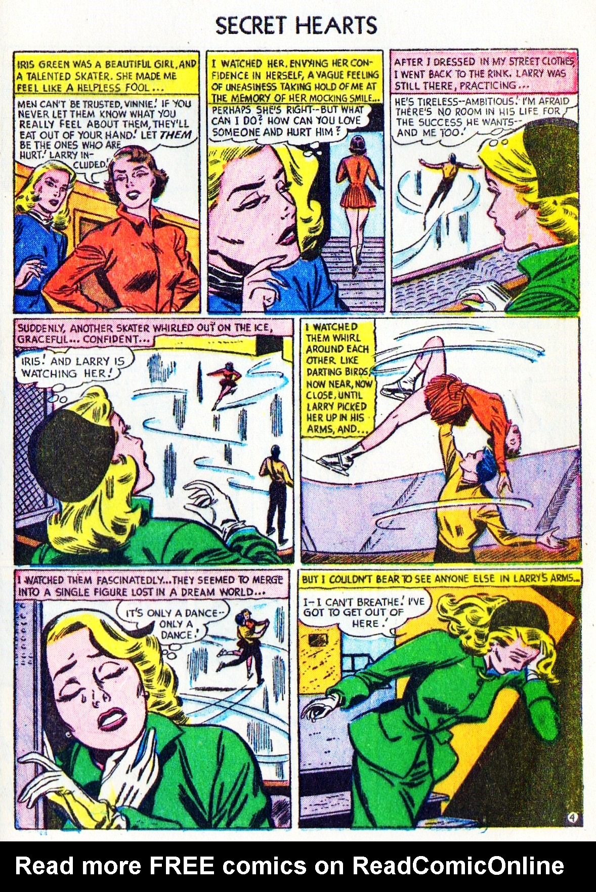 Read online Secret Hearts comic -  Issue #15 - 29