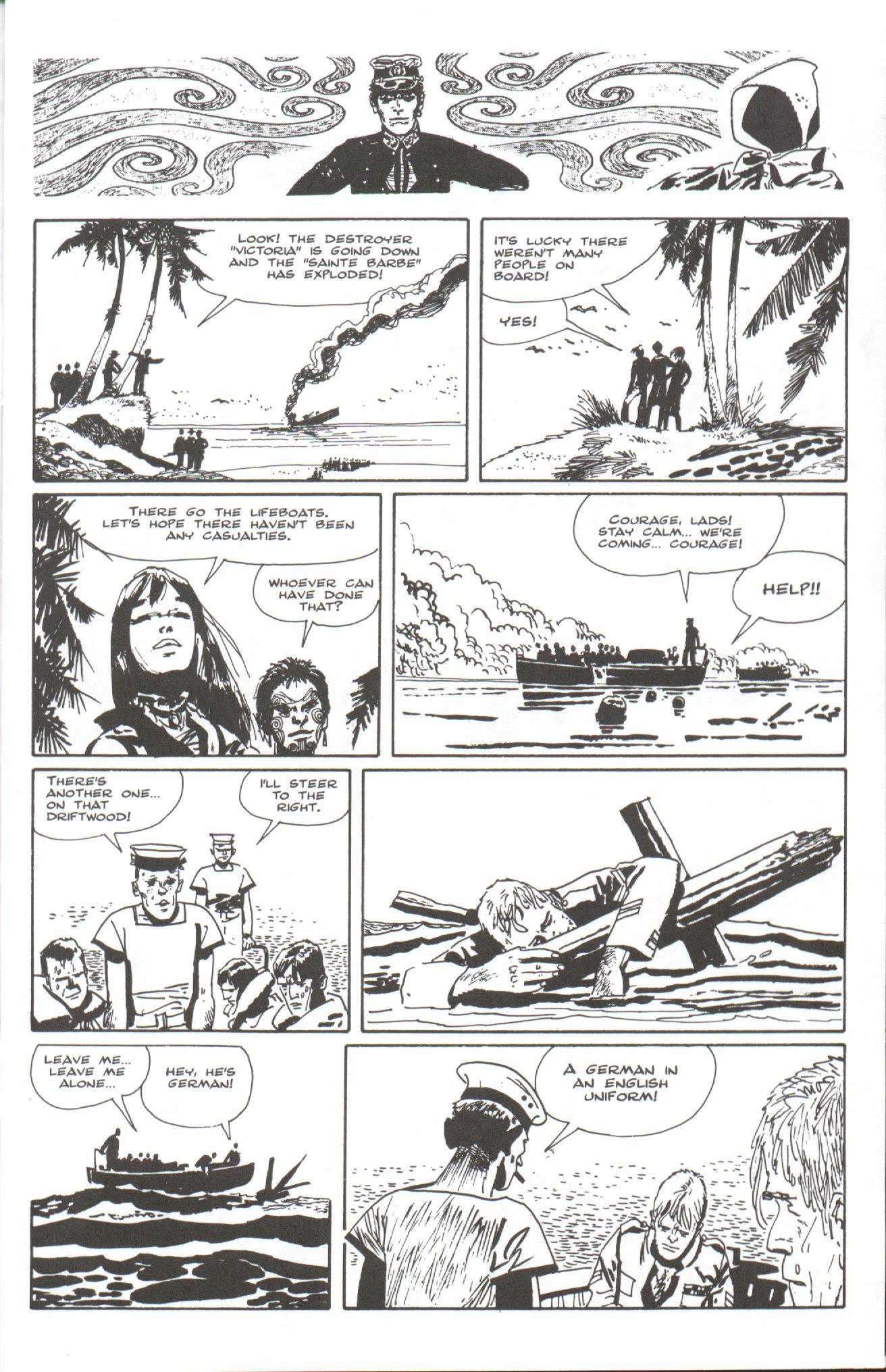 Read online Corto Maltese: Ballad of the Salt Sea comic -  Issue #7 - 5