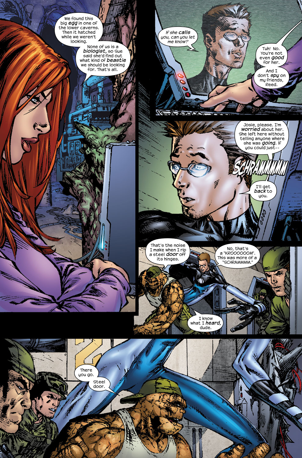 Read online Ultimate Fantastic Four (2004) comic -  Issue #56 - 18