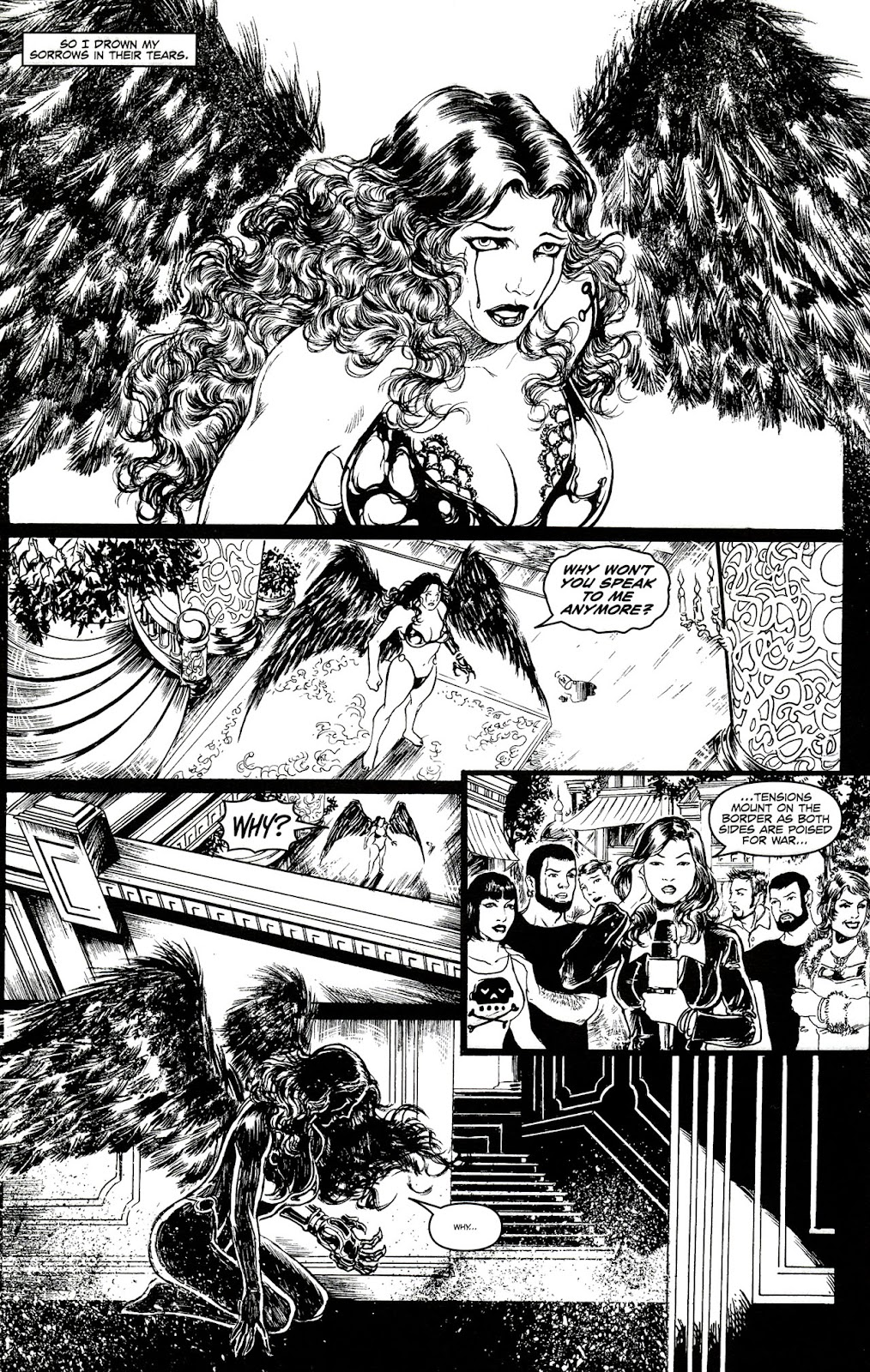 Read online Brian Pulido's War Angel comic -  Issue #0 - 15