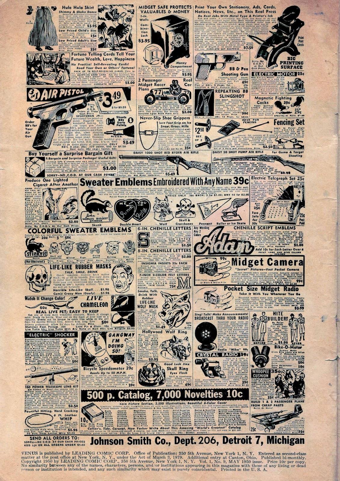 Venus (1948) issue 9 - Page 4
