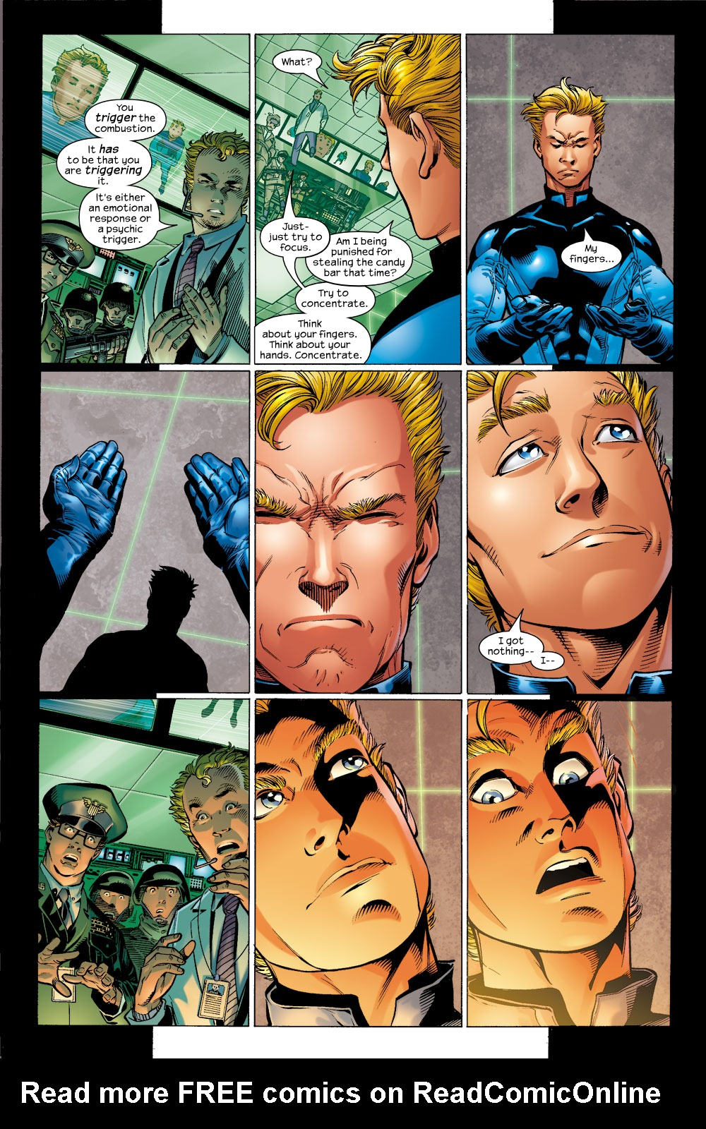 Read online Ultimate Fantastic Four (2004) comic -  Issue #4 - 3