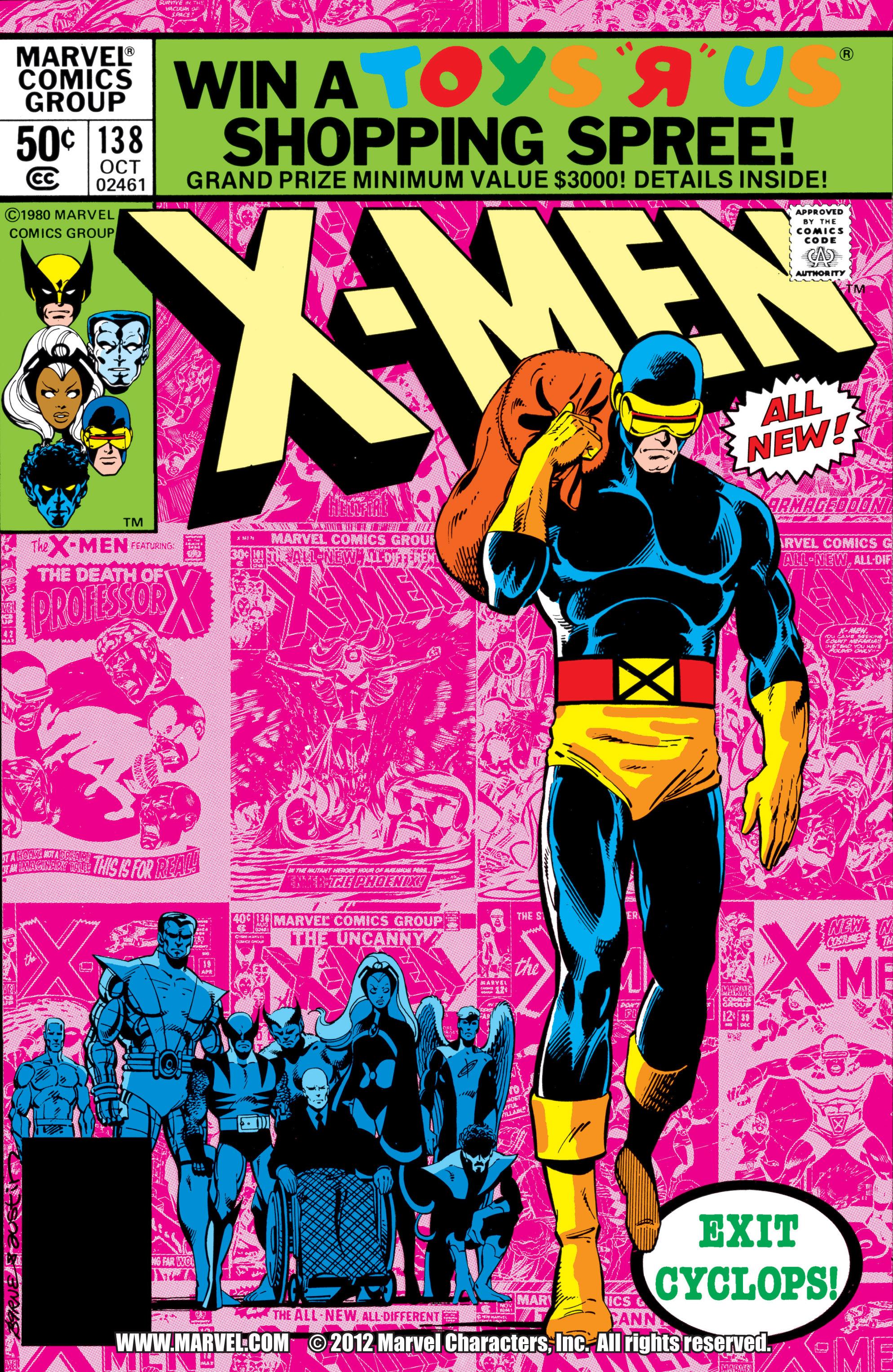 Uncanny X-Men (1963) 138 Page 1
