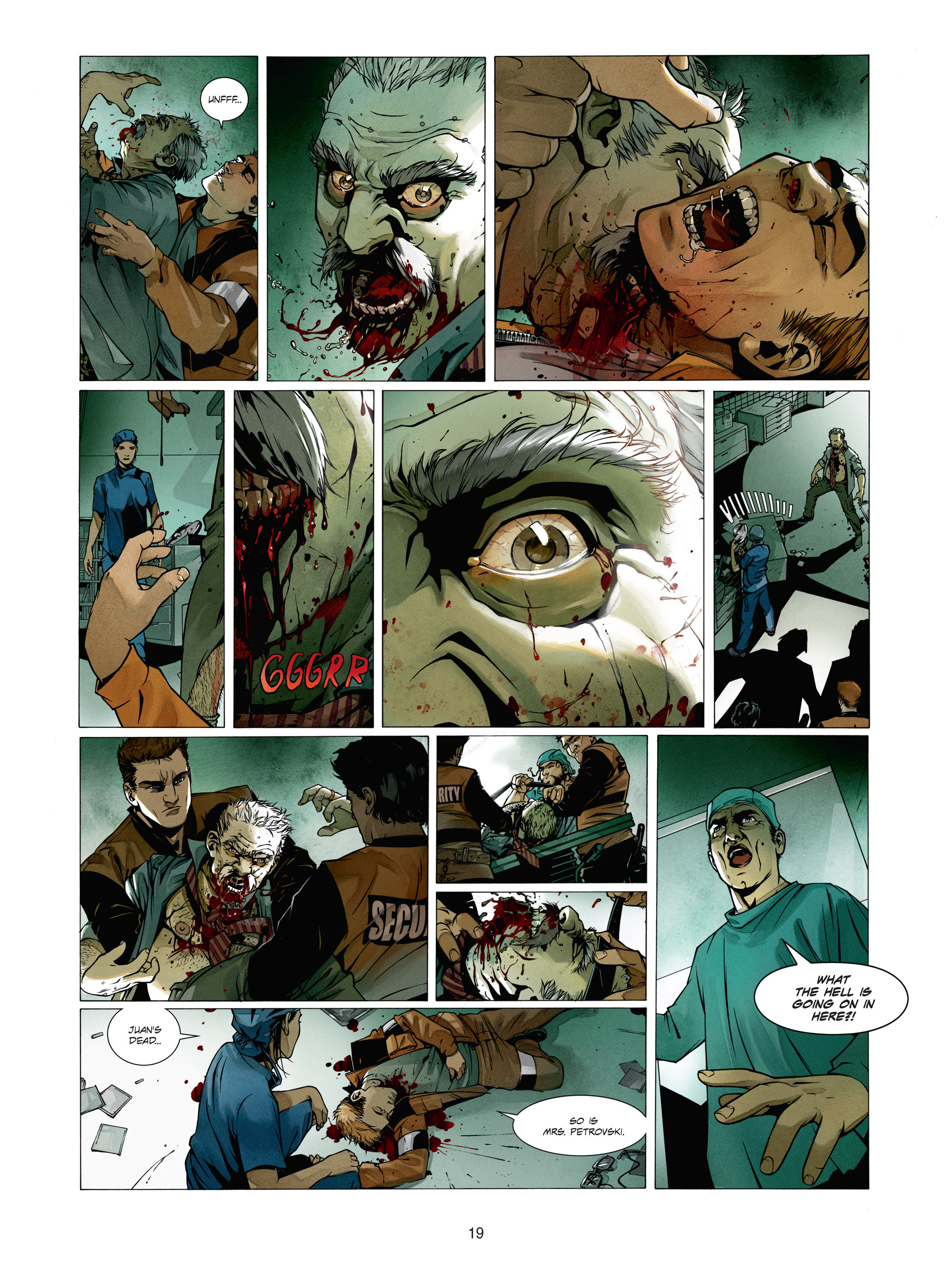 Read online Alice Matheson comic -  Issue #1 - 18