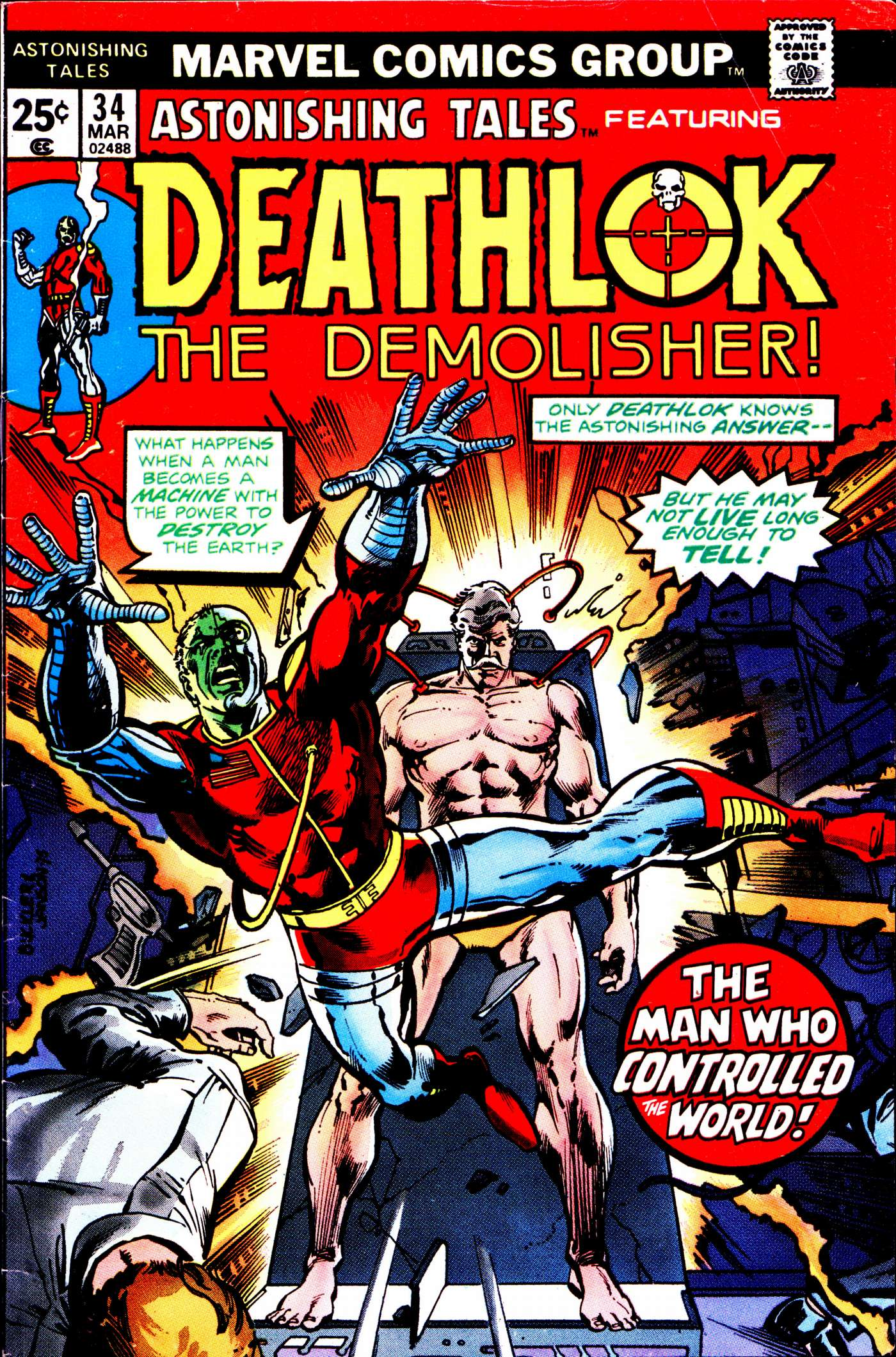Read online Astonishing Tales (1970) comic -  Issue #34 - 1