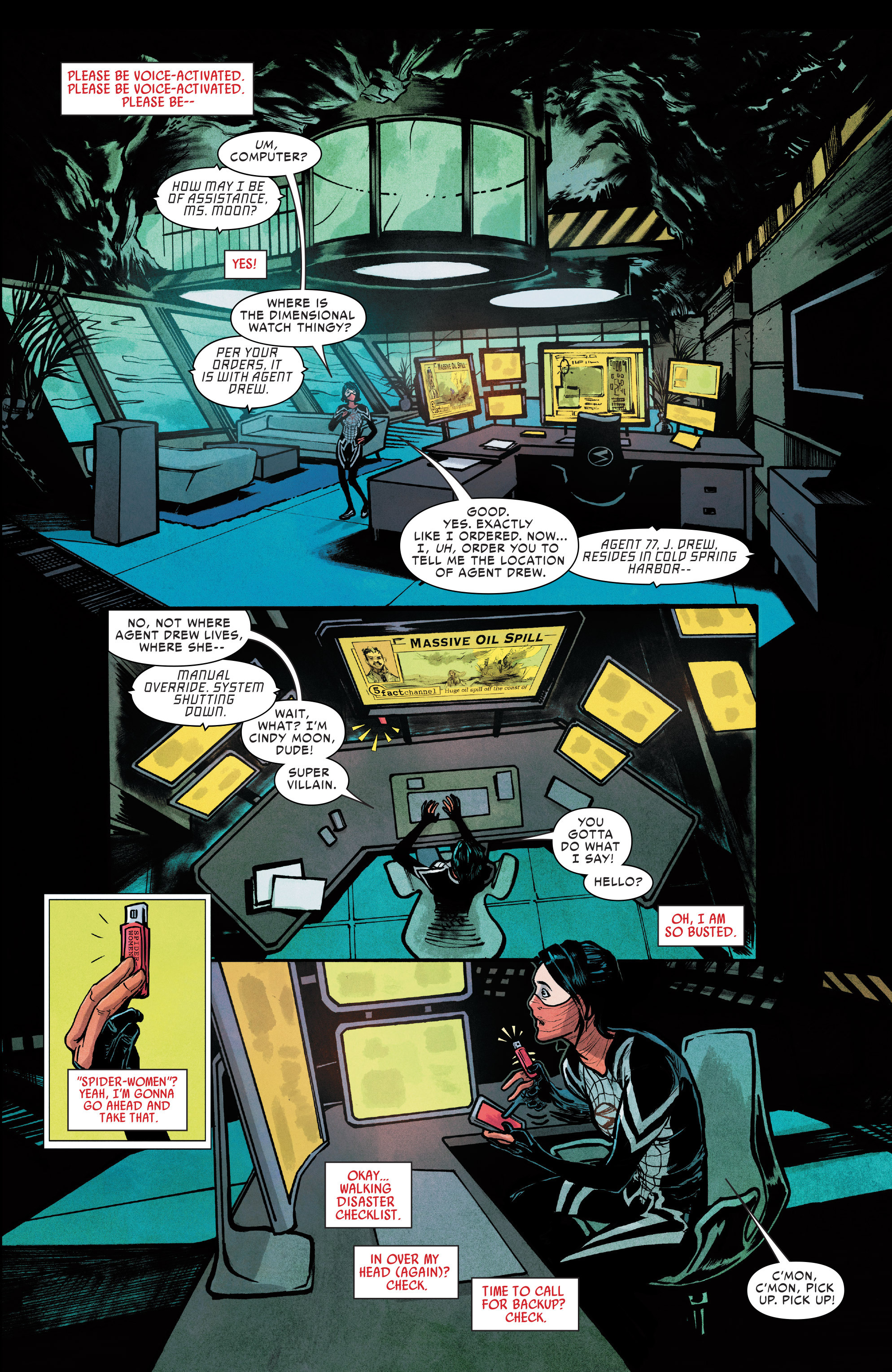 Read online Silk (2016) comic -  Issue #7 - 19