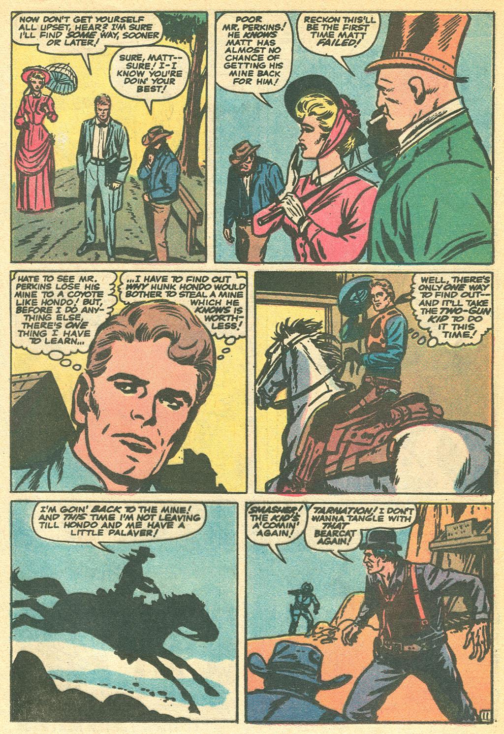 Read online Two-Gun Kid comic -  Issue #93 - 17