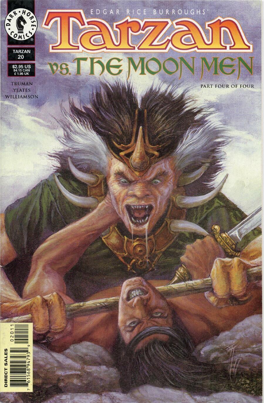 Tarzan (1996) issue 20 - Page 1