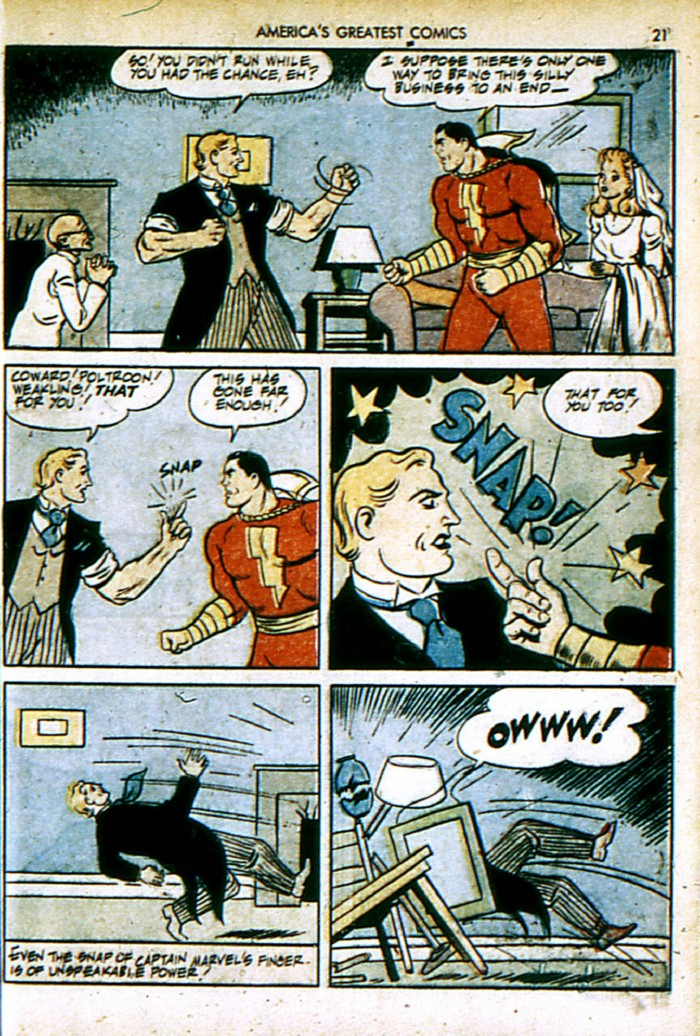 Read online America's Greatest Comics comic -  Issue #4 - 21