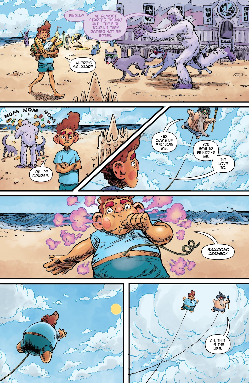 Read online Wizard Beach comic -  Issue #4 - 12