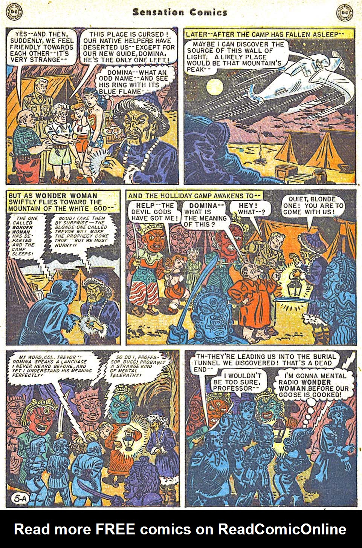 Read online Sensation (Mystery) Comics comic -  Issue #79 - 7