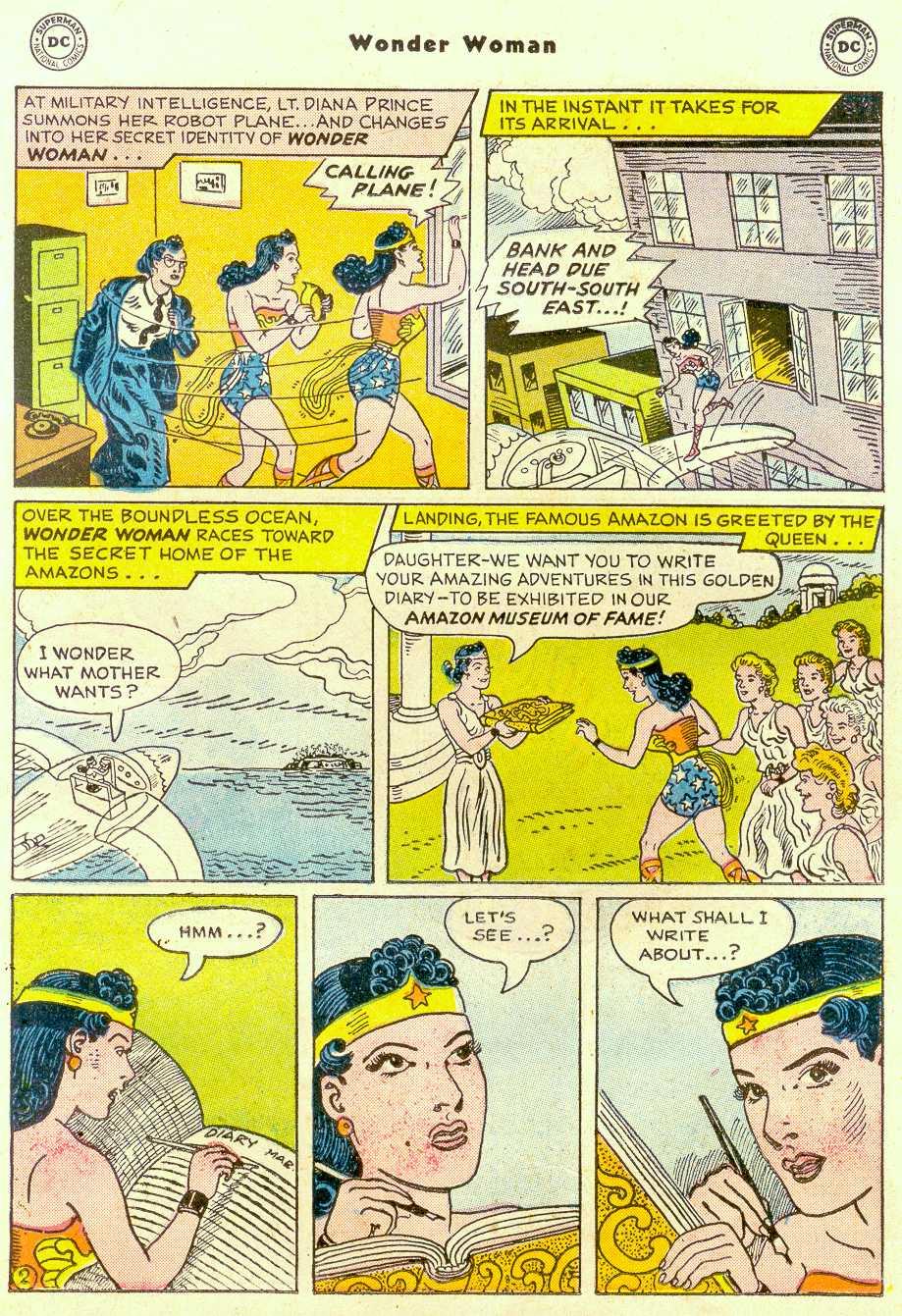 Read online Wonder Woman (1942) comic -  Issue #96 - 16