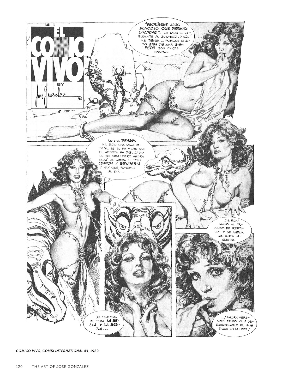 Read online The Art of Jose Gonzalez comic -  Issue # TPB (Part 2) - 22