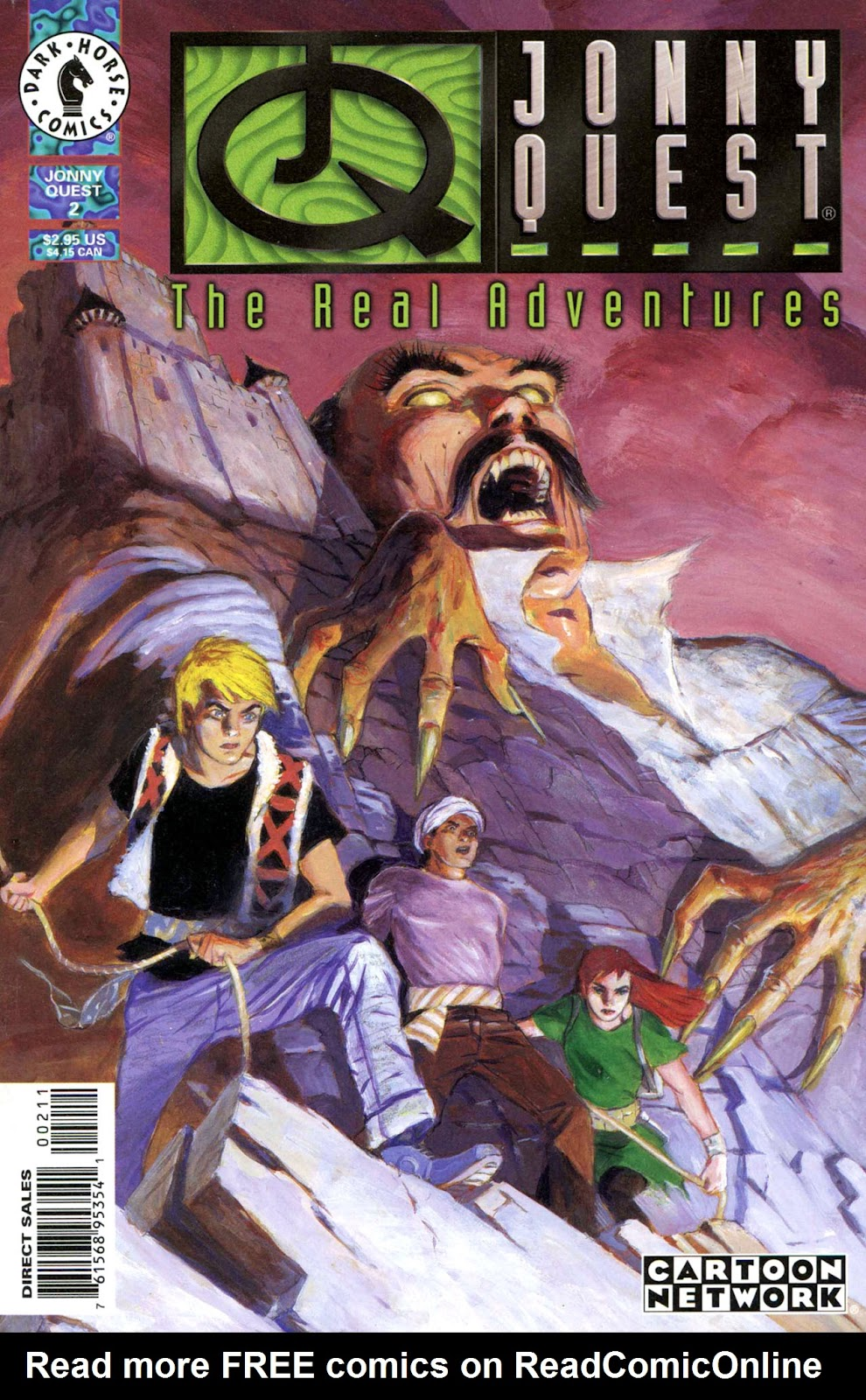 Read online The Real Adventures of Jonny Quest comic -  Issue #2 - 1