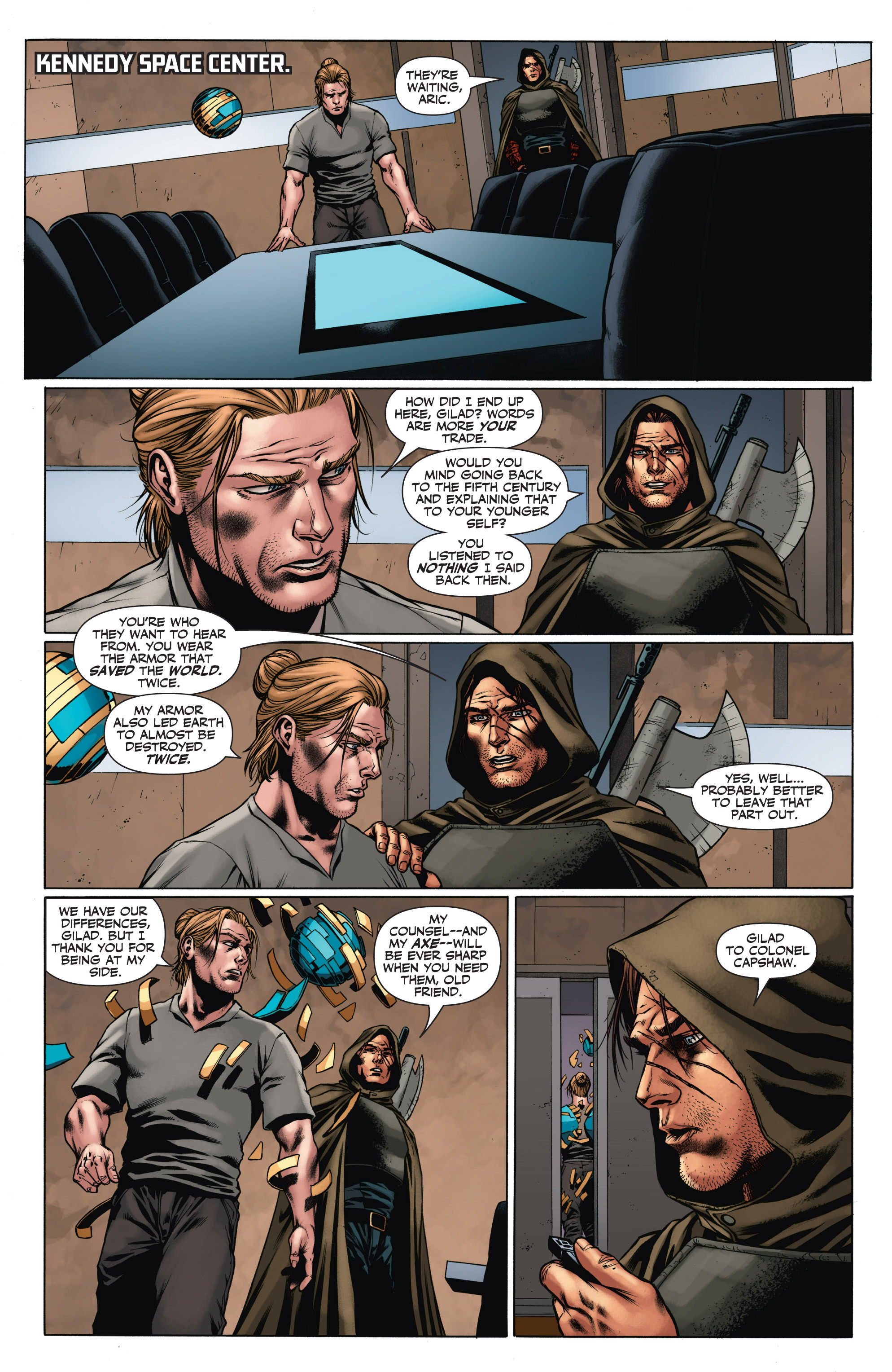 Read online Armor Hunters: Aftermath comic -  Issue # Full - 18