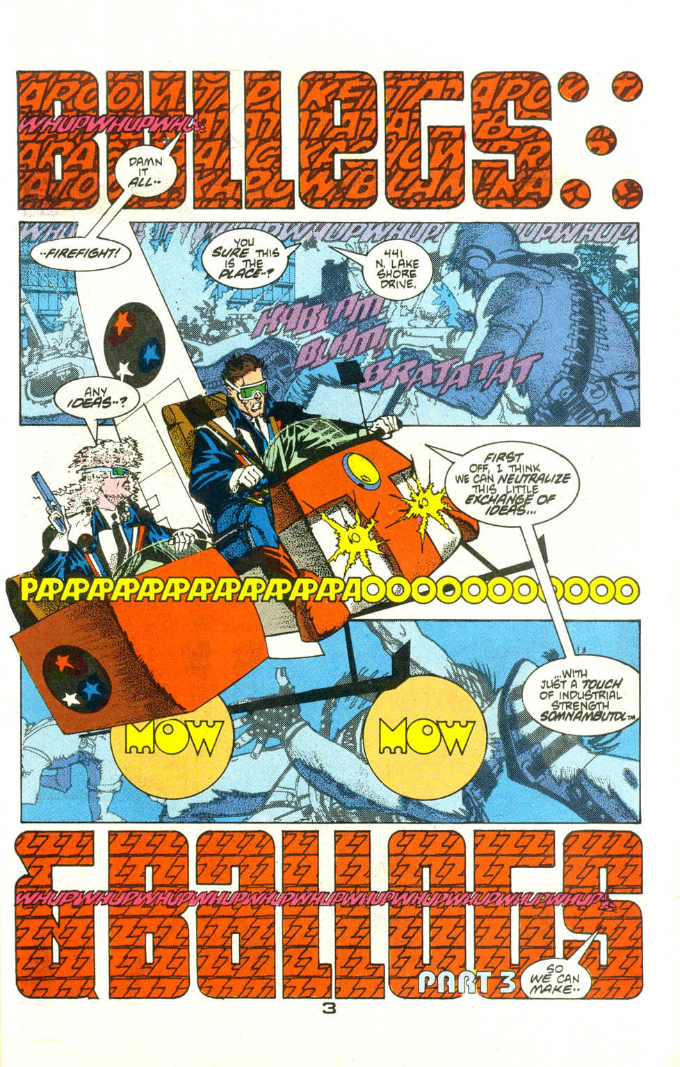 Read online American Flagg! comic -  Issue #21 - 5