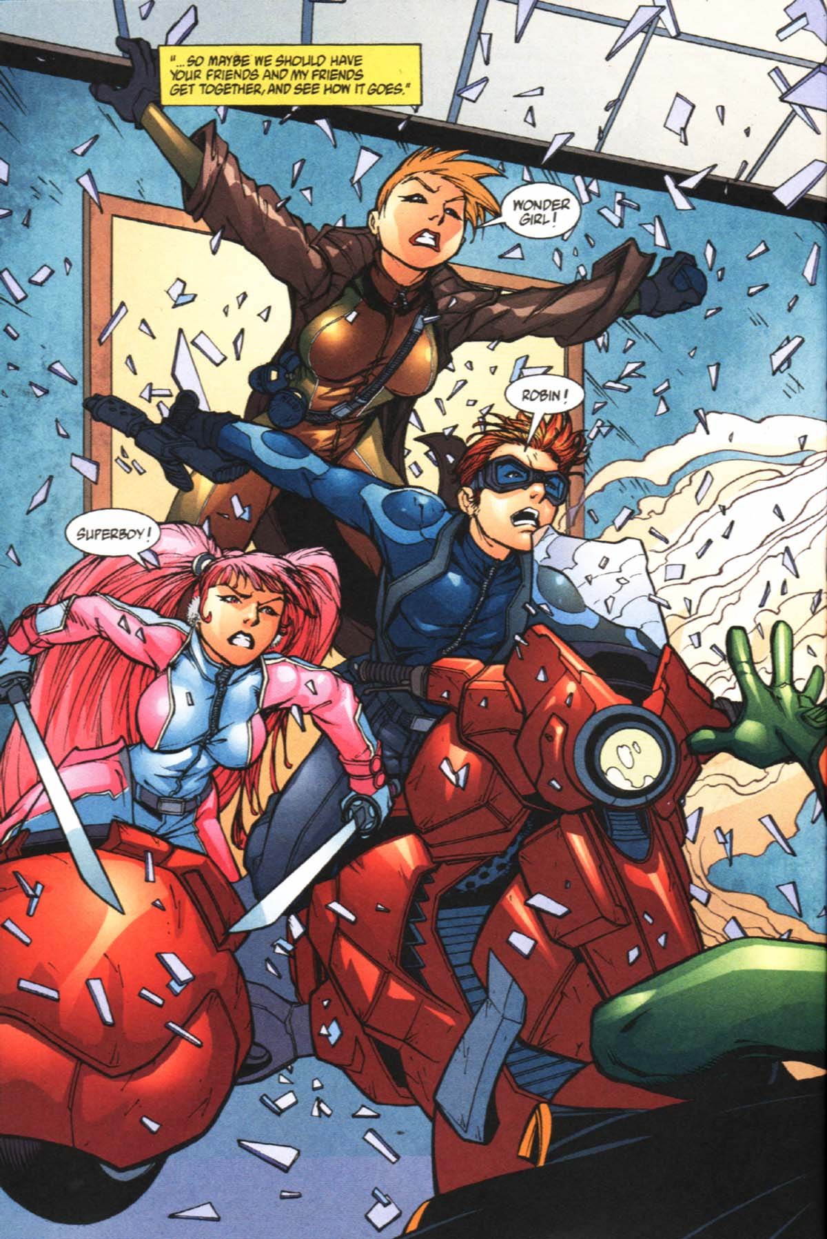 Read online SpyBoy/Young Justice comic -  Issue #2 - 4