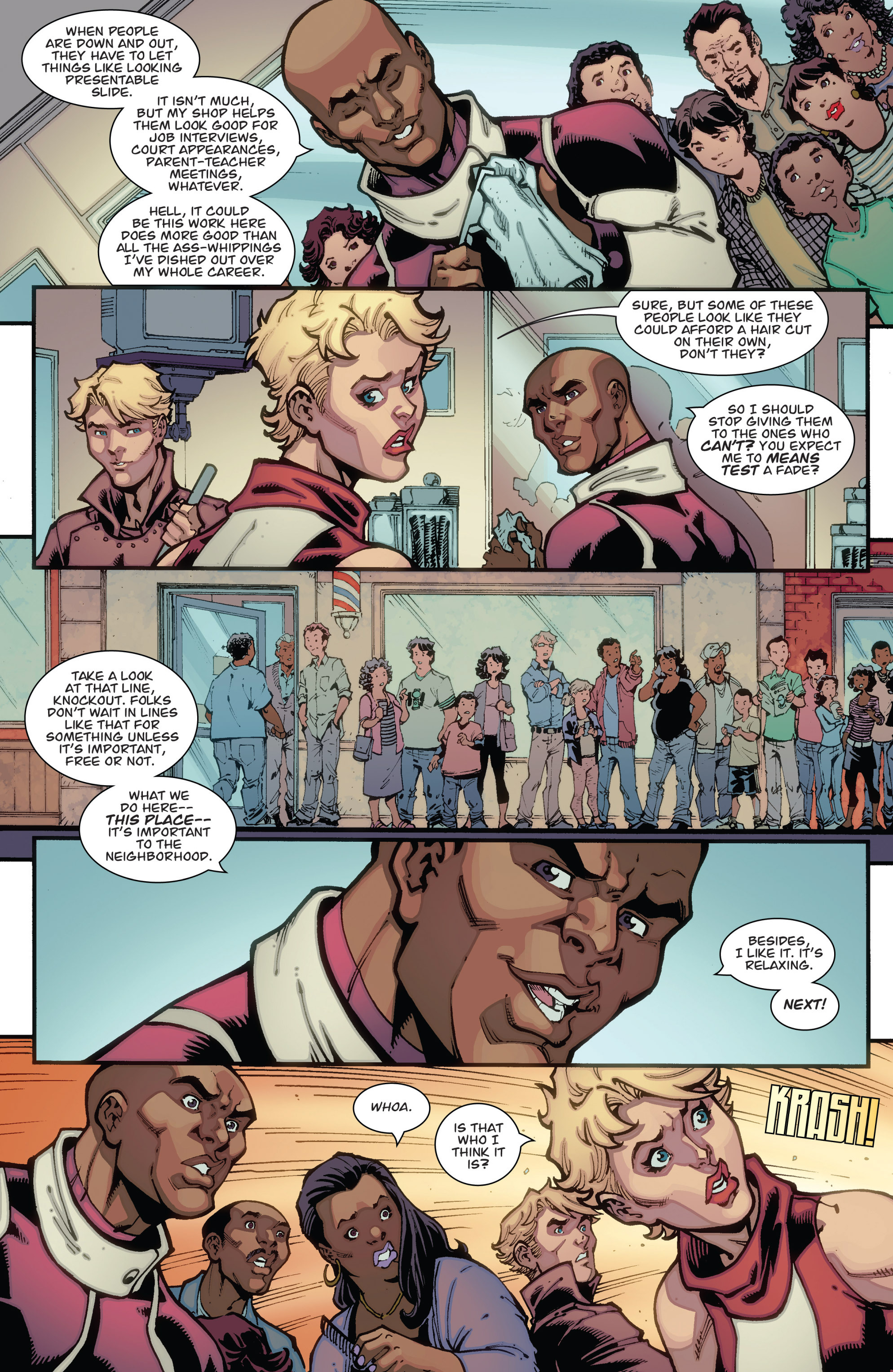 Read online Guarding the Globe (2012) comic -  Issue #3 - 5