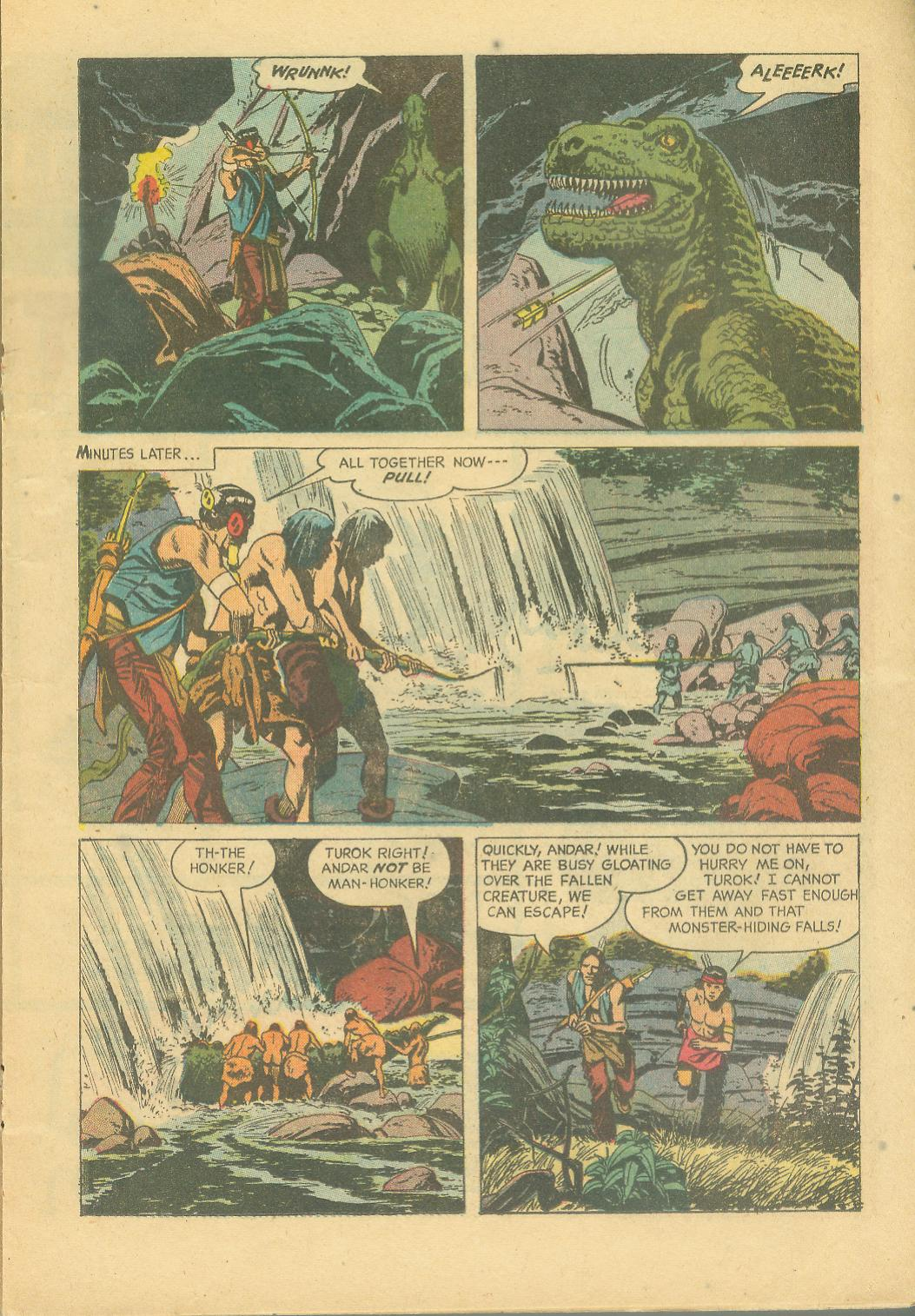 Read online Turok, Son of Stone comic -  Issue #25 - 17
