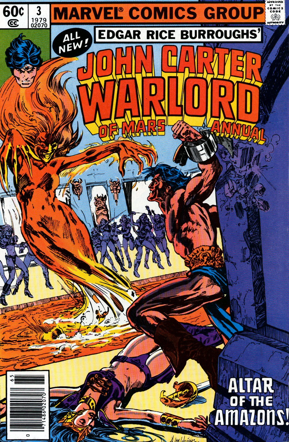 John Carter Warlord of Mars issue Annual 3 - Page 1