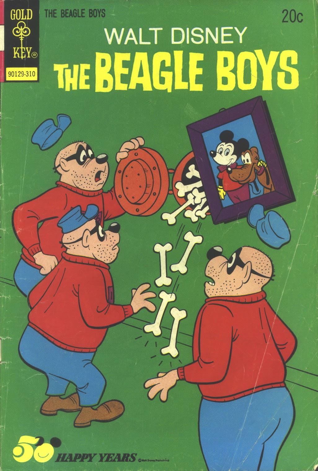 Walt Disney THE BEAGLE BOYS issue 18 - Page 1
