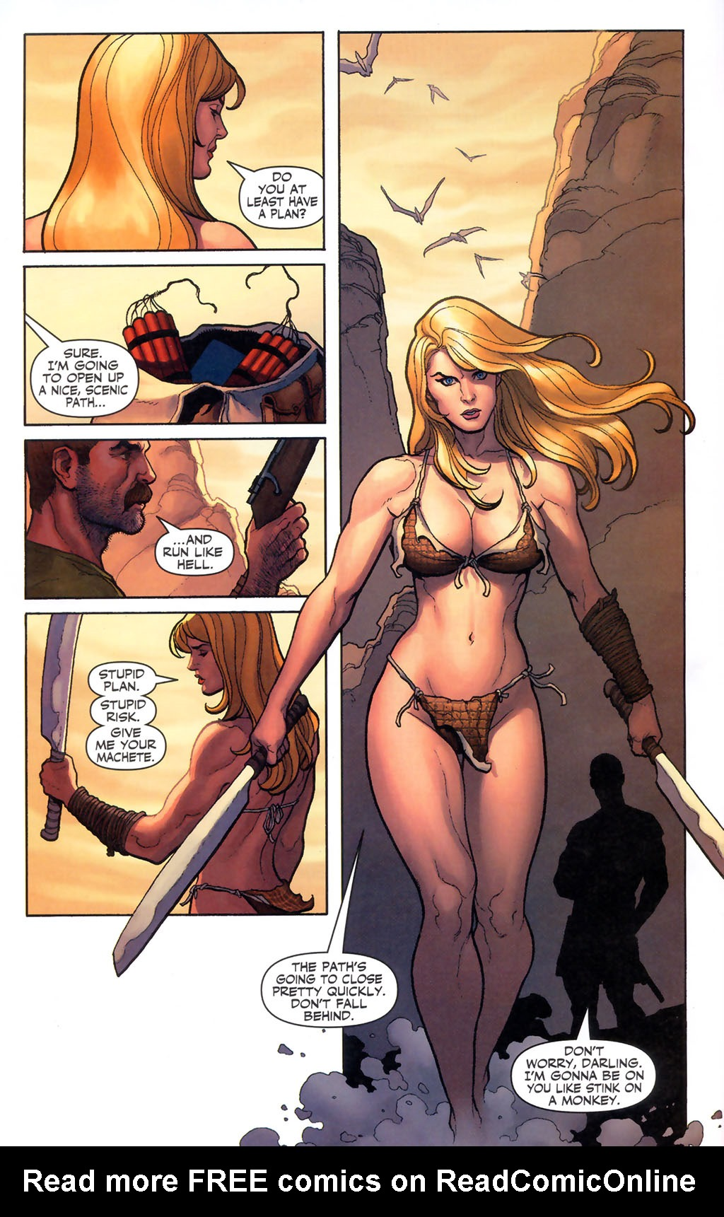 Read online Shanna, the She-Devil (2005) comic -  Issue #5 - 20