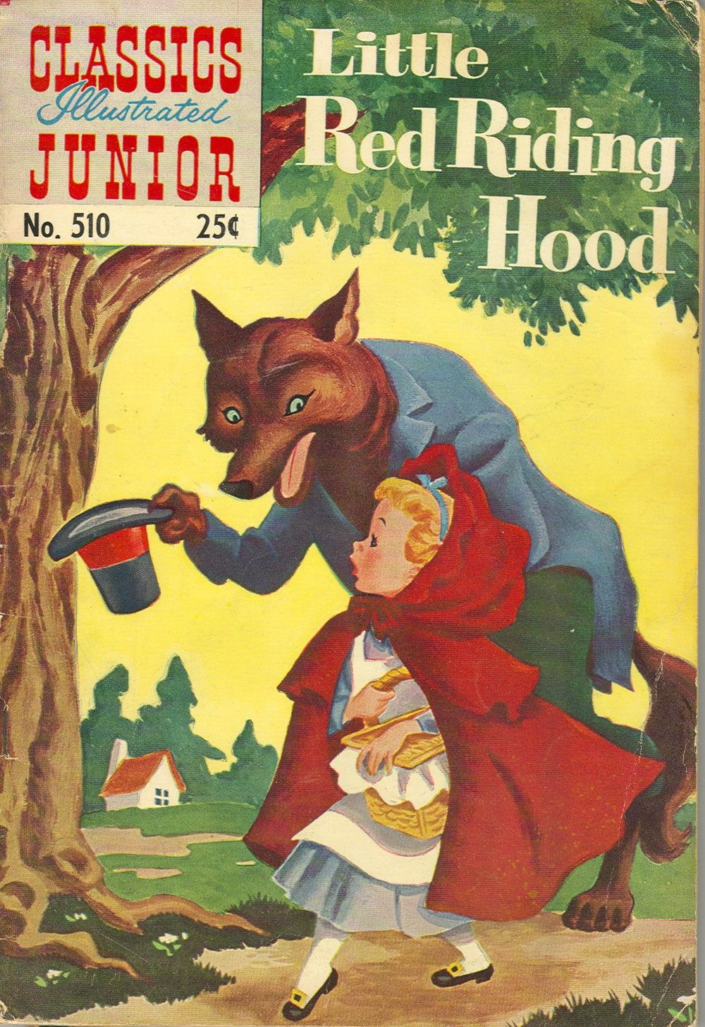 Classics Illustrated Junior 510 Page 1