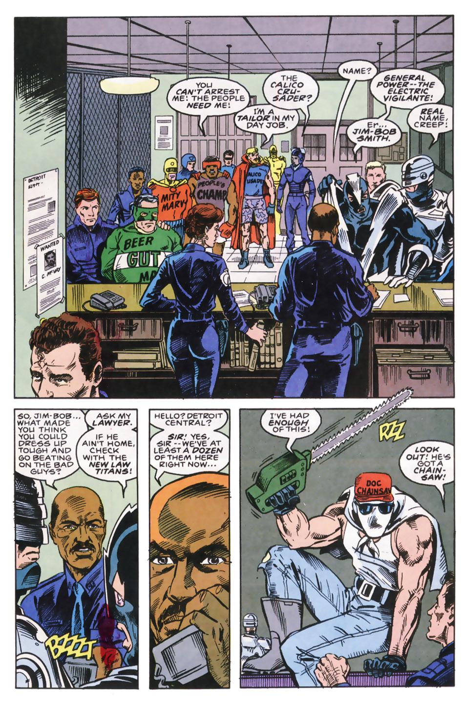 Read online Robocop (1990) comic -  Issue #9 - 9