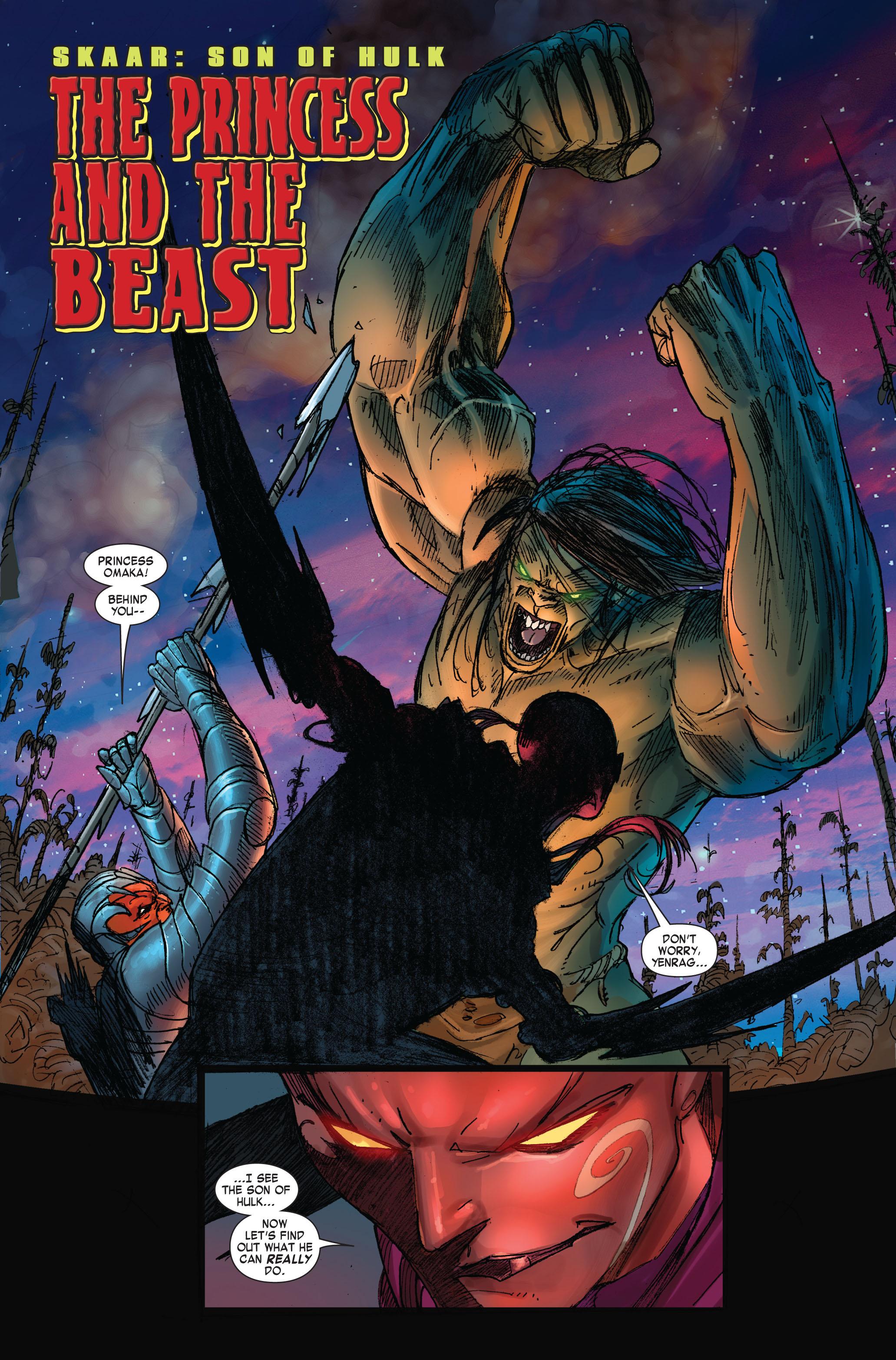 Read online Skaar: Son of Hulk comic -  Issue #3 - 3
