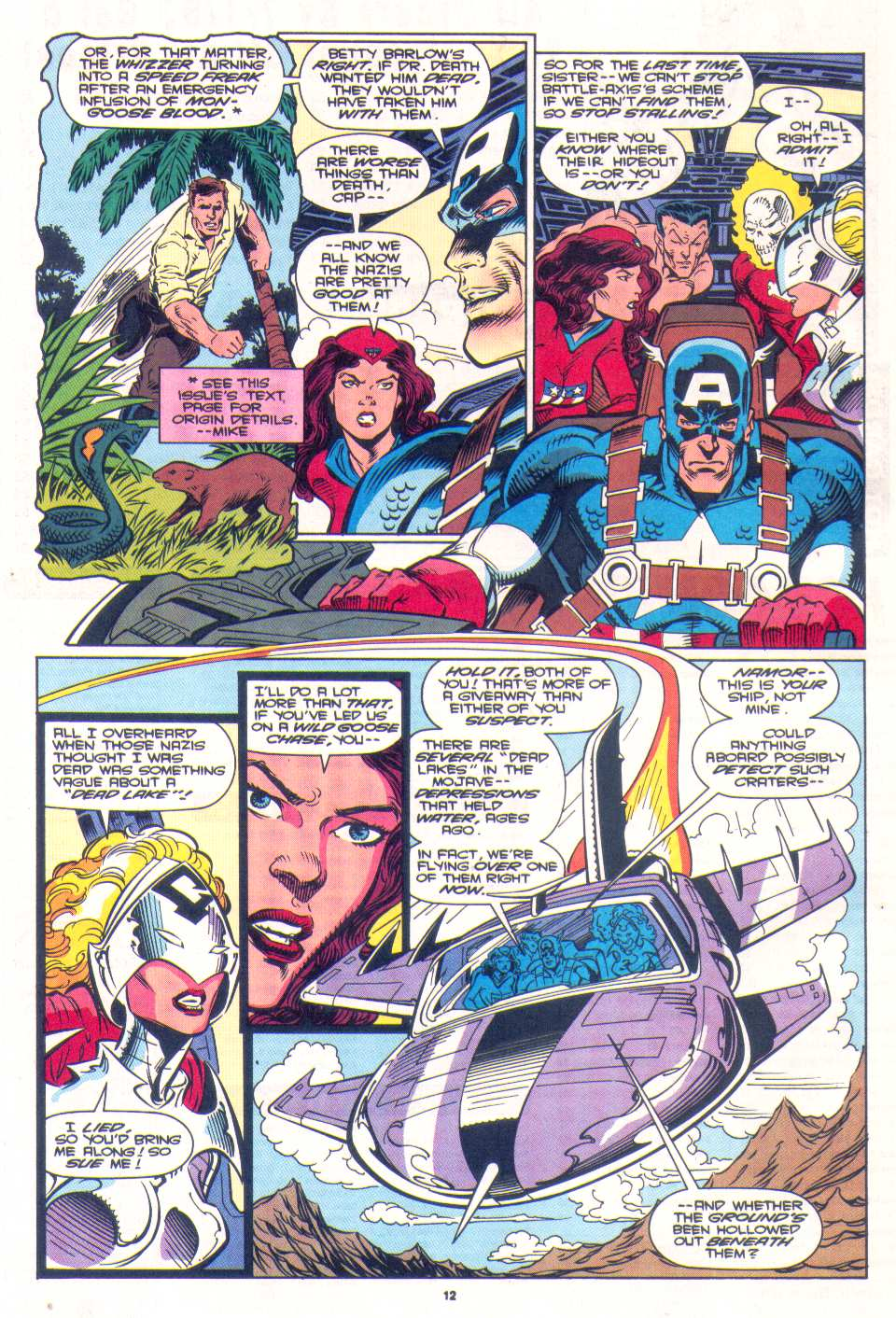 Read online The Invaders (1993) comic -  Issue #3 - 10
