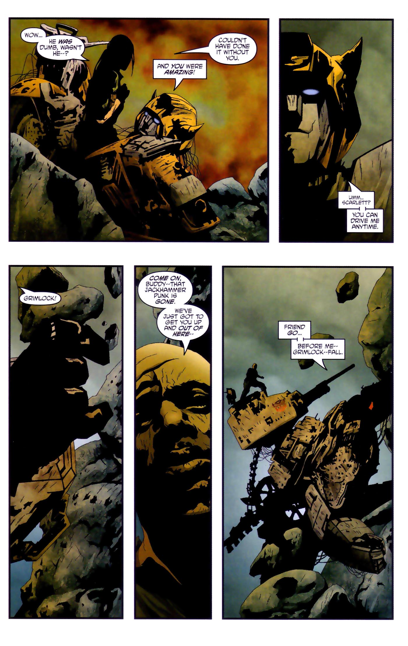 Read online Transformers/G.I. Joe comic -  Issue #4 - 11