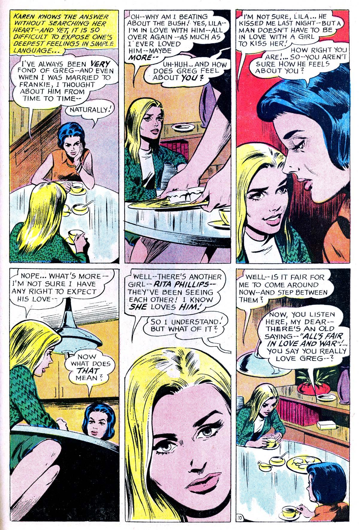 Read online Secret Hearts comic -  Issue #114 - 27