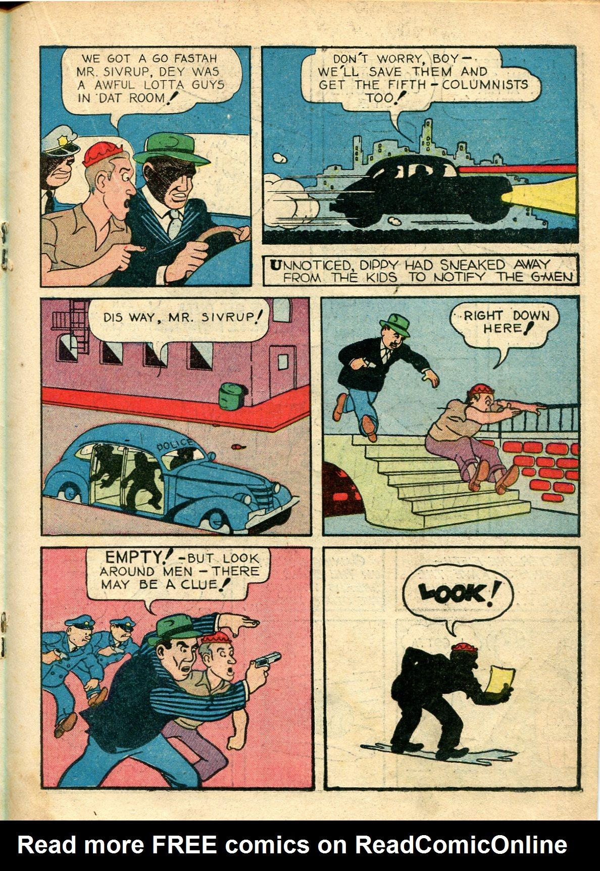 Read online Shadow Comics comic -  Issue #10 - 35