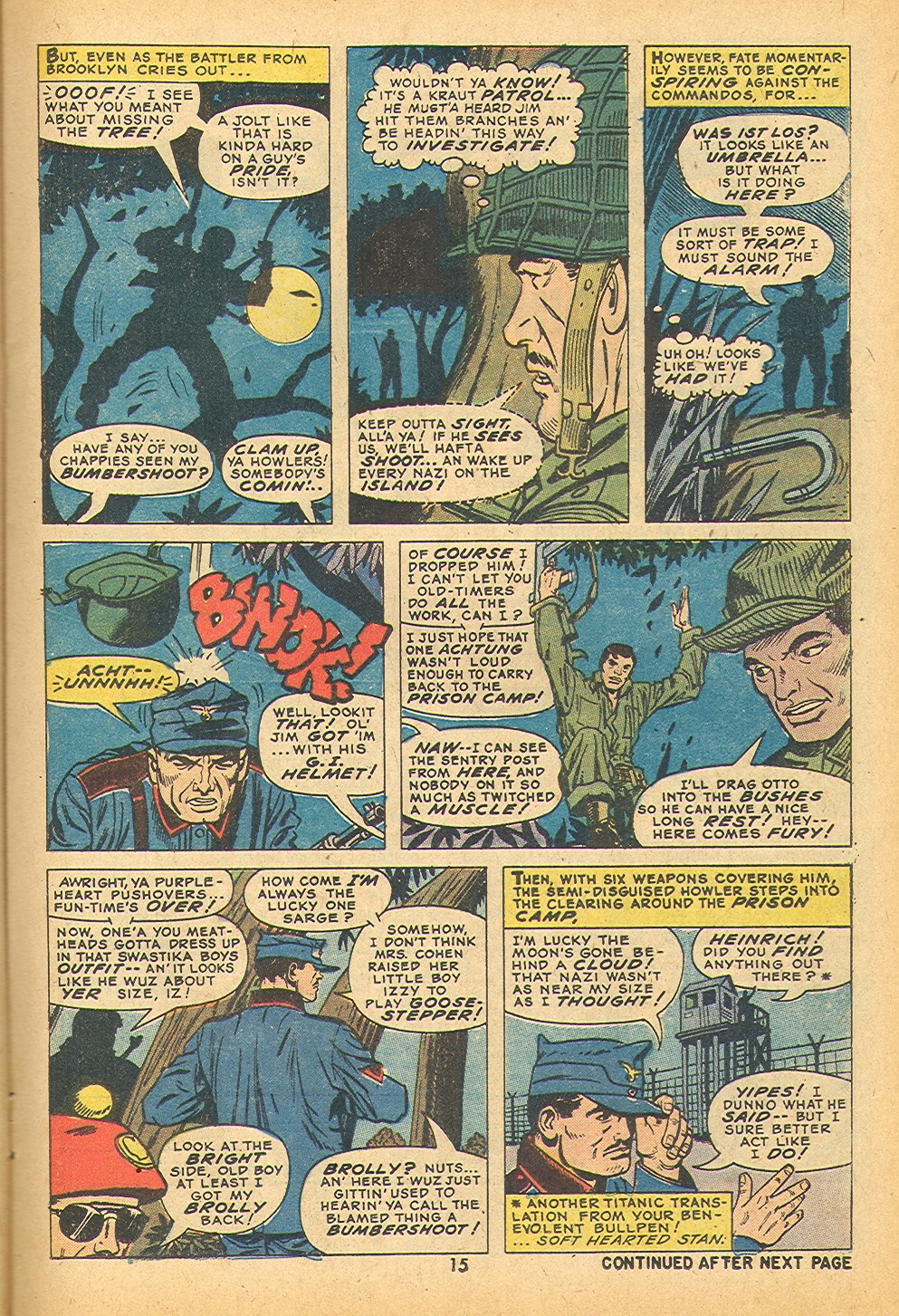 Read online Sgt. Fury comic -  Issue #109 - 17