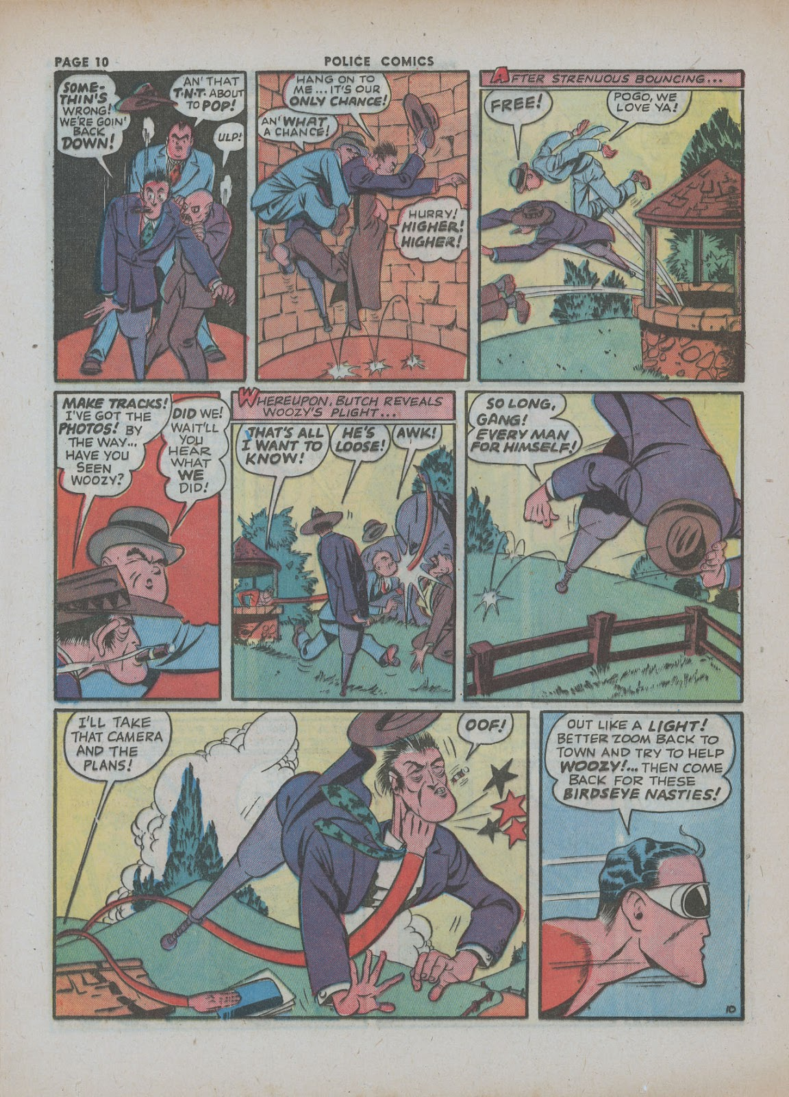 Police Comics issue 18 - Page 12