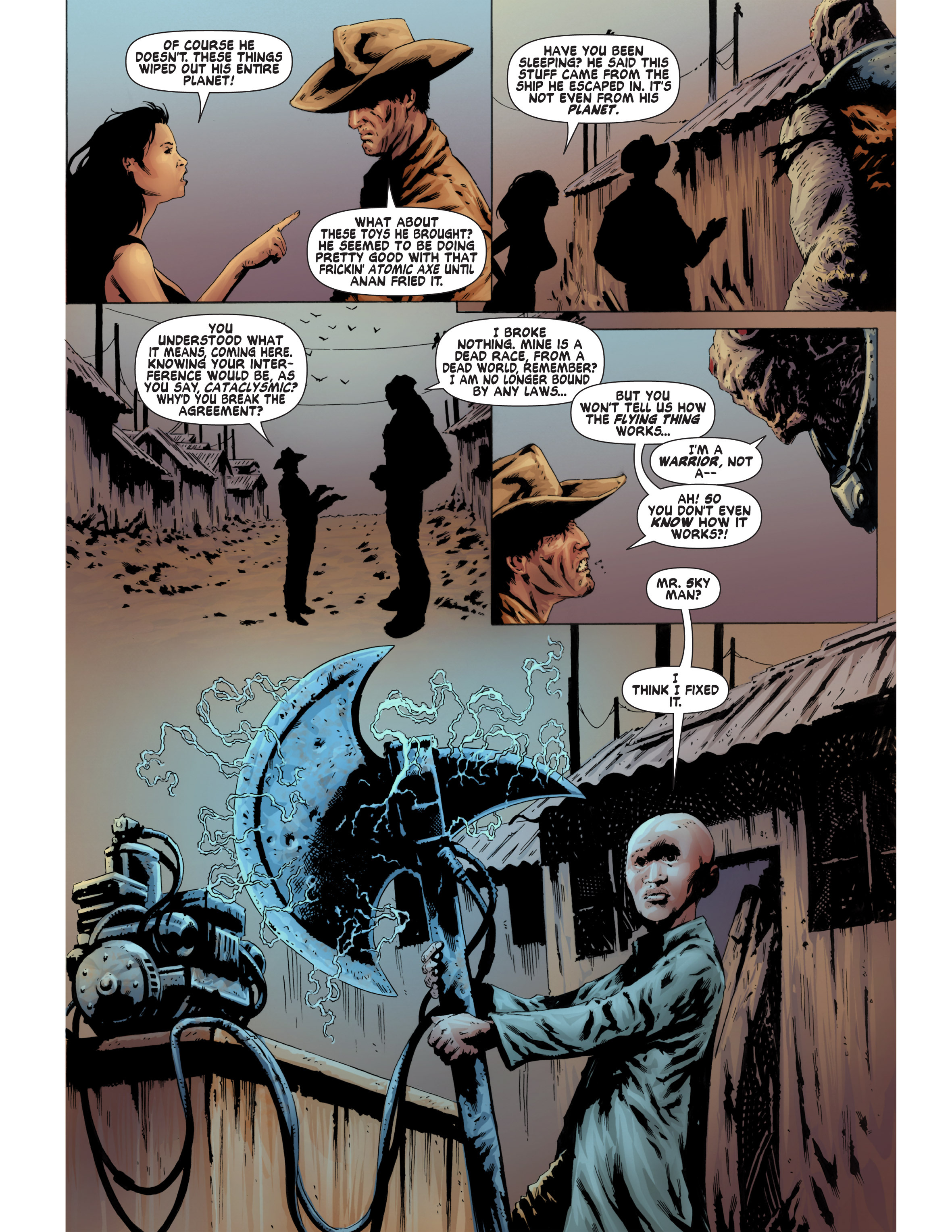 Read online Bad Planet comic -  Issue # TPB - 110