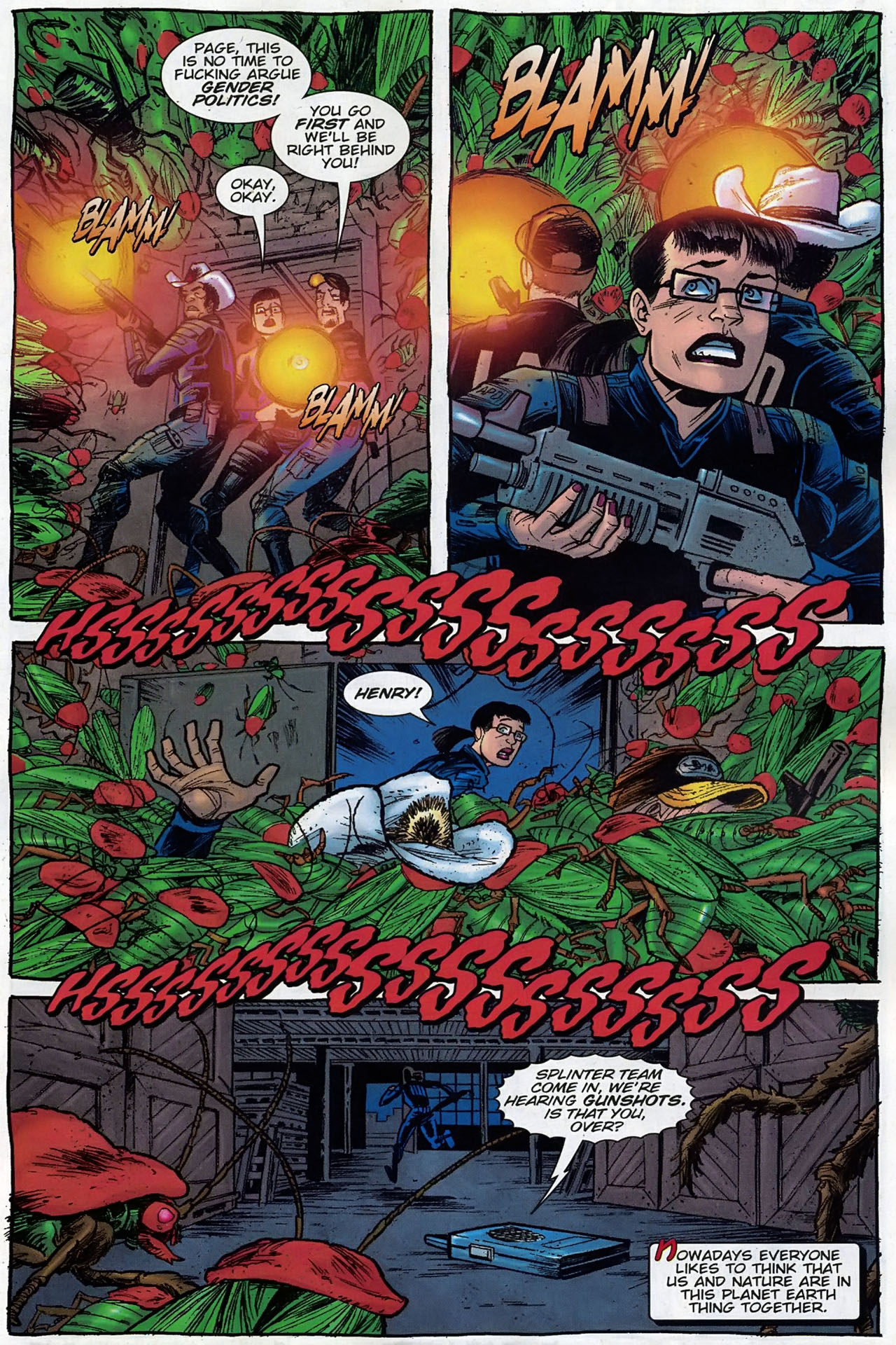 Read online The Exterminators comic -  Issue #30 - 2