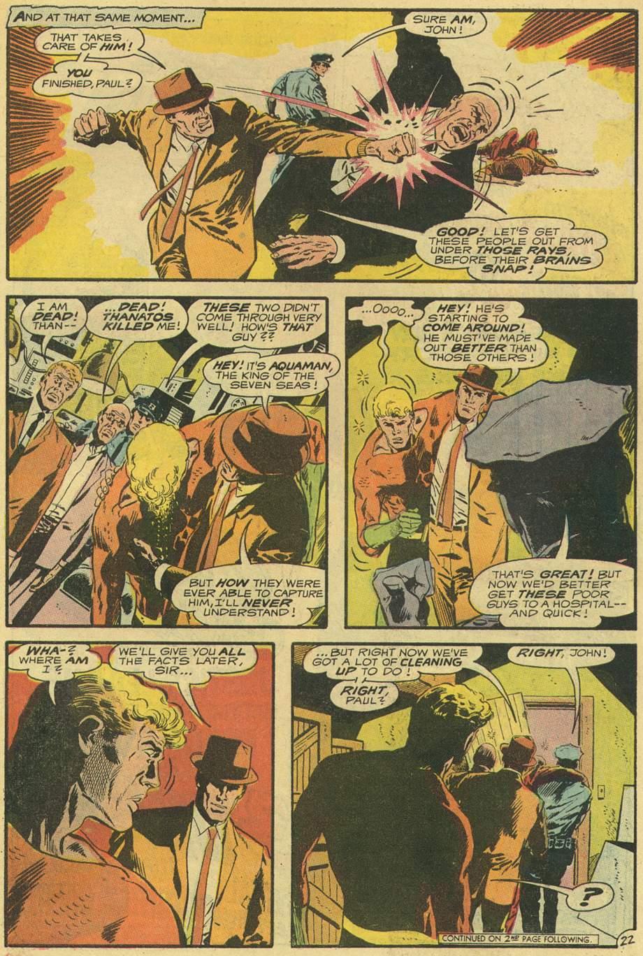 Read online Aquaman (1962) comic -  Issue #54 - 27