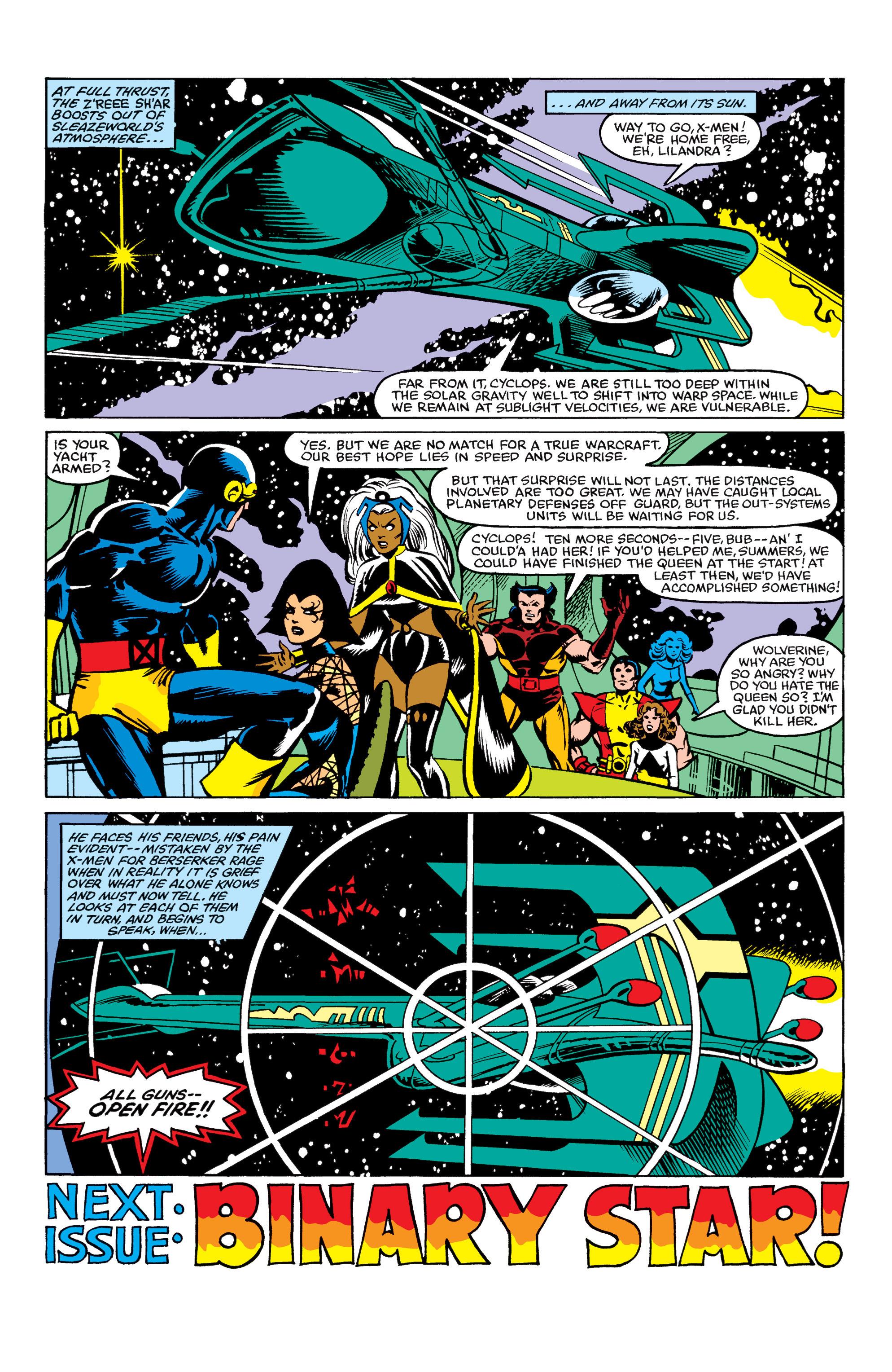 Read online Uncanny X-Men (1963) comic -  Issue #163 - 23